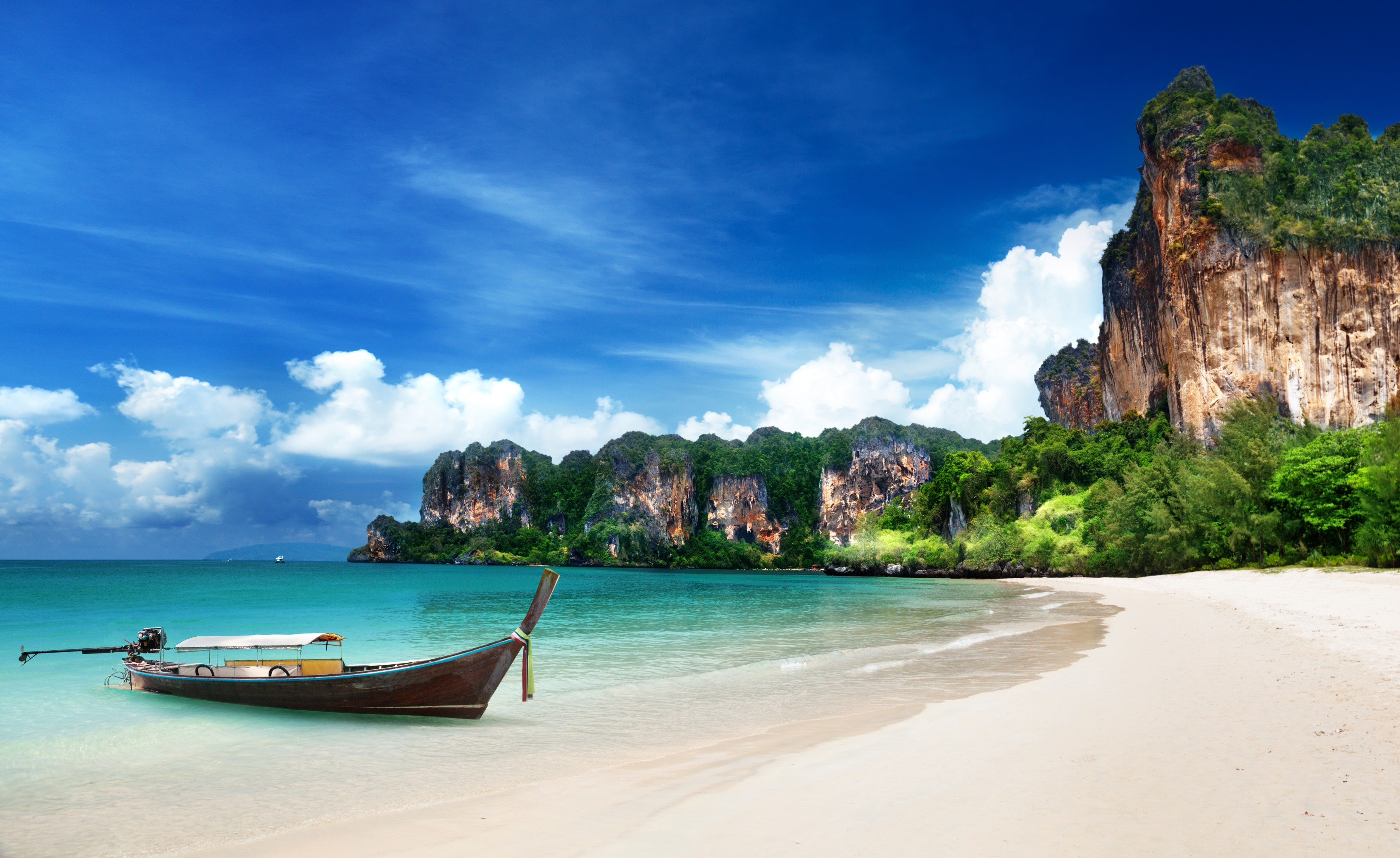 Wallpaper Krabi Beach HD 4k Thailand Best Beaches In