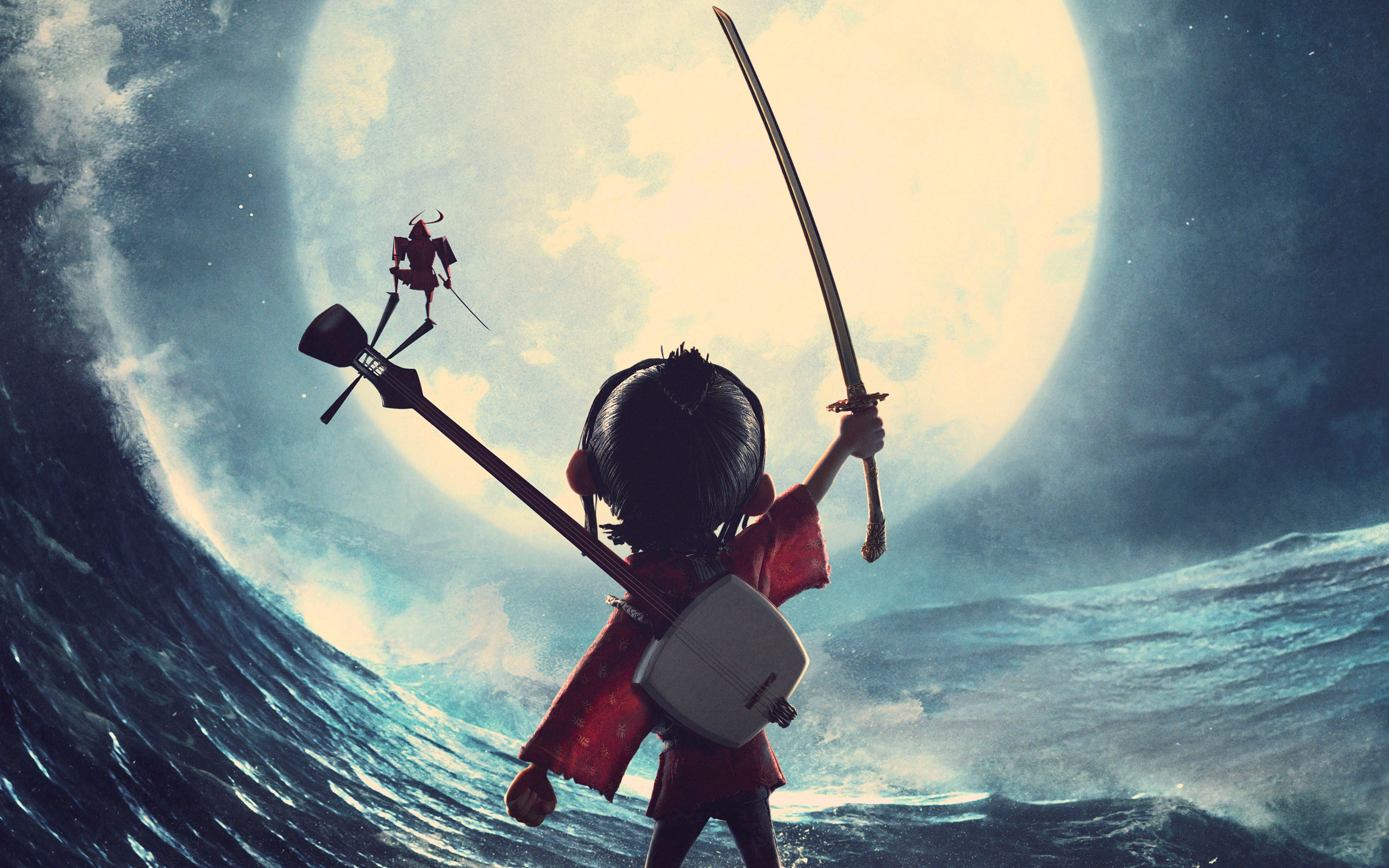 Wallpaper Kubo And The Two Strings Best Animation Movies Of 2016