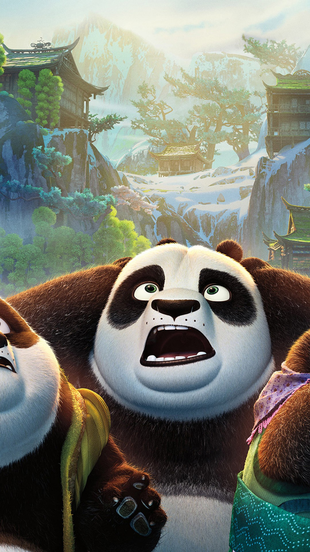 Wallpaper Kung Fu Panda 3 Movies 7124