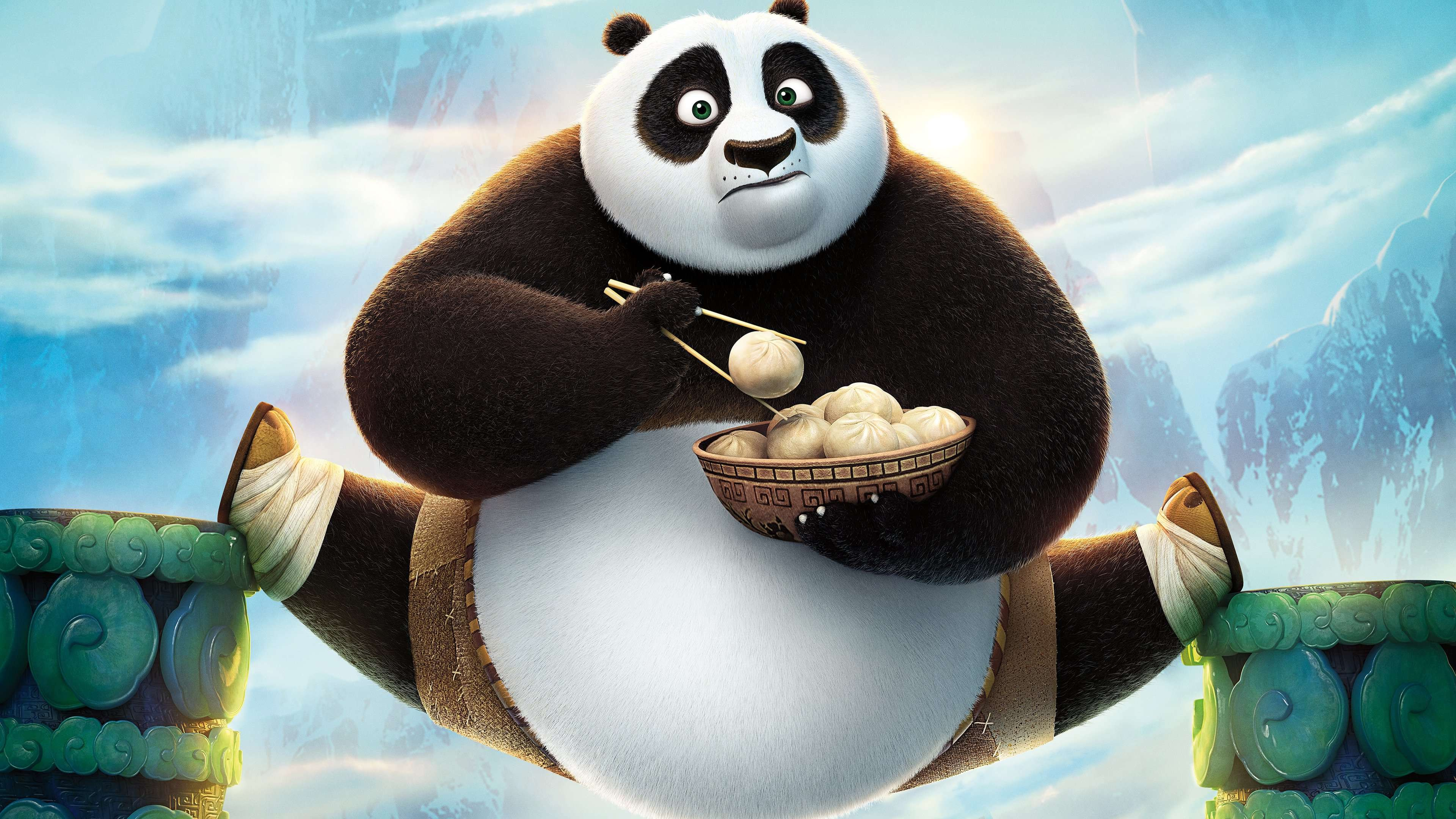 Wallpaper kung fu panda 3 best animation movies cartoon for Wallpaper home animation