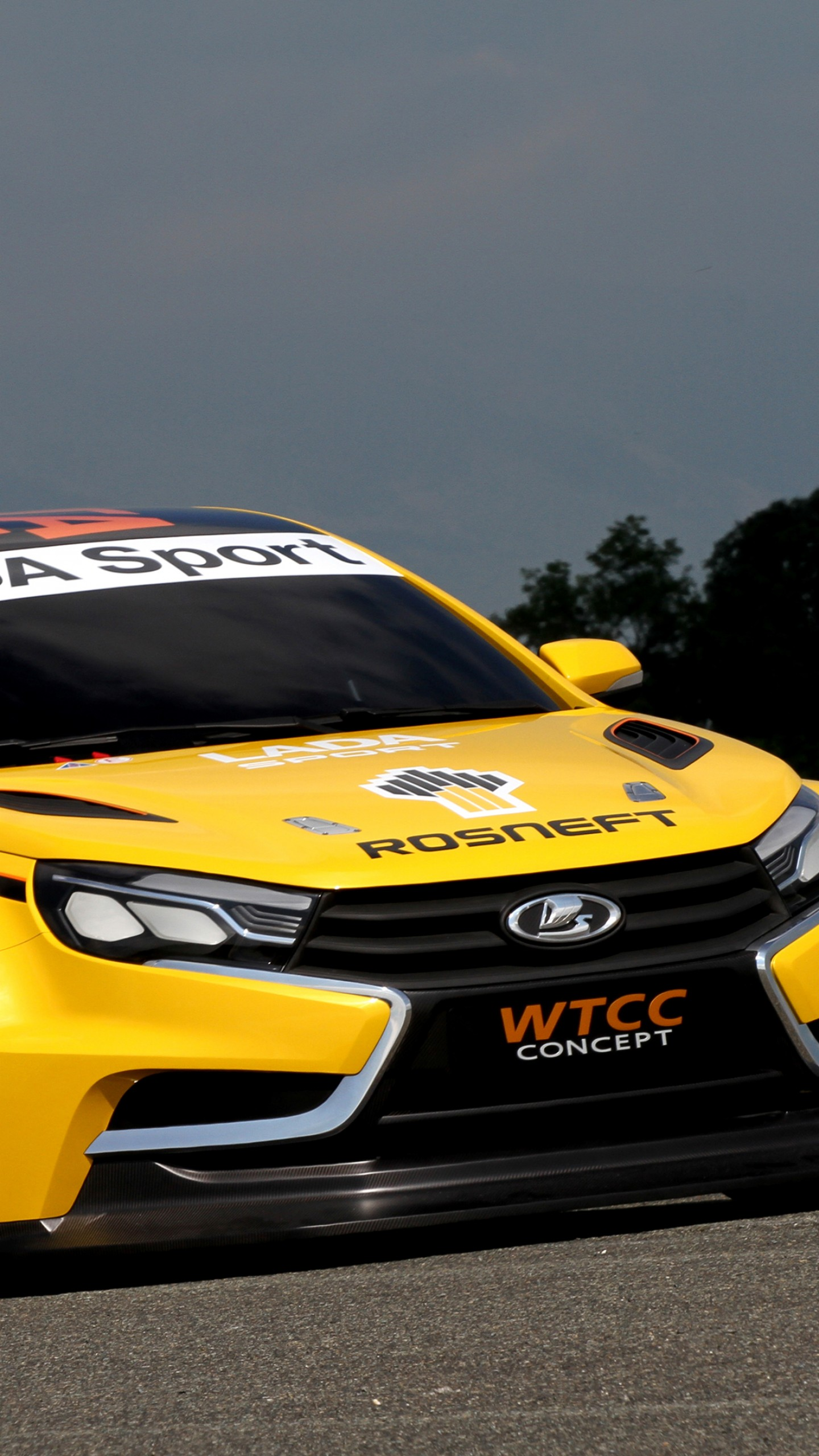 Nissan Sports Car >> Wallpaper Lada Vesta WTCC, sports car, Lada Vesta, review, test drive, 2015 cars, front, Cars ...