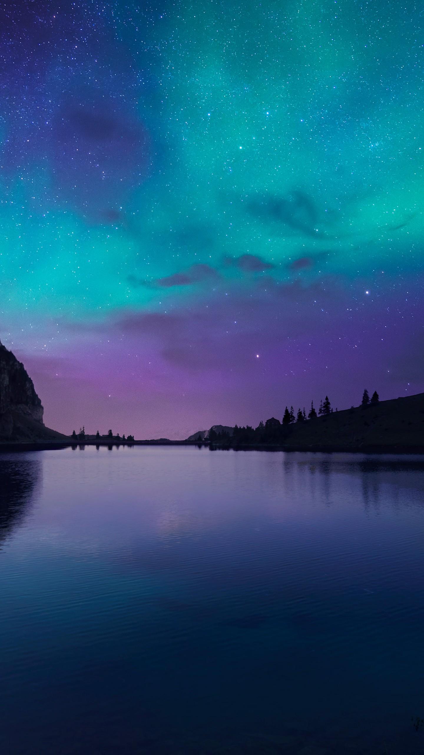Wallpaper Lake Aurora 4k Hd Wallpaper Florida Night Sky Stars Os 12771