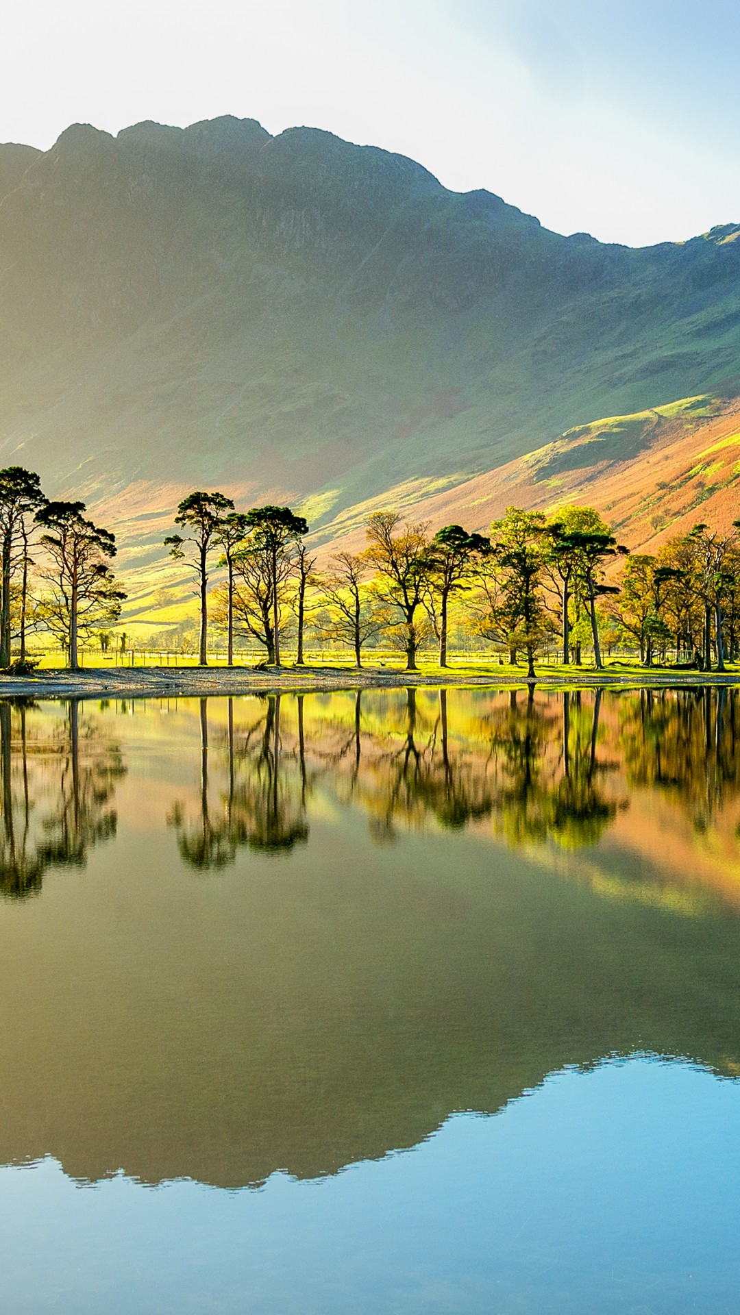 lake buttermere park national england mountains cumbria 4k wallpapers district nature bing microsoft wallpapershome water