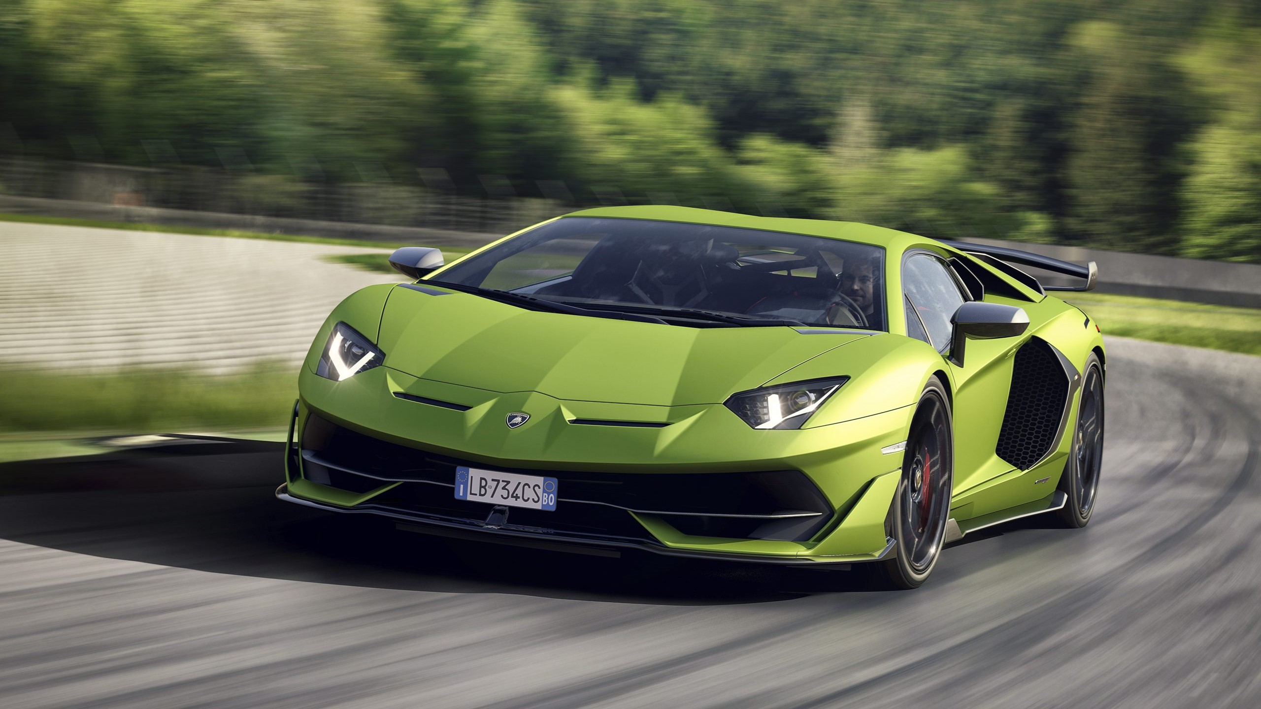 Wallpaper Lamborghini Aventador Svj 2019 Cars Supercar