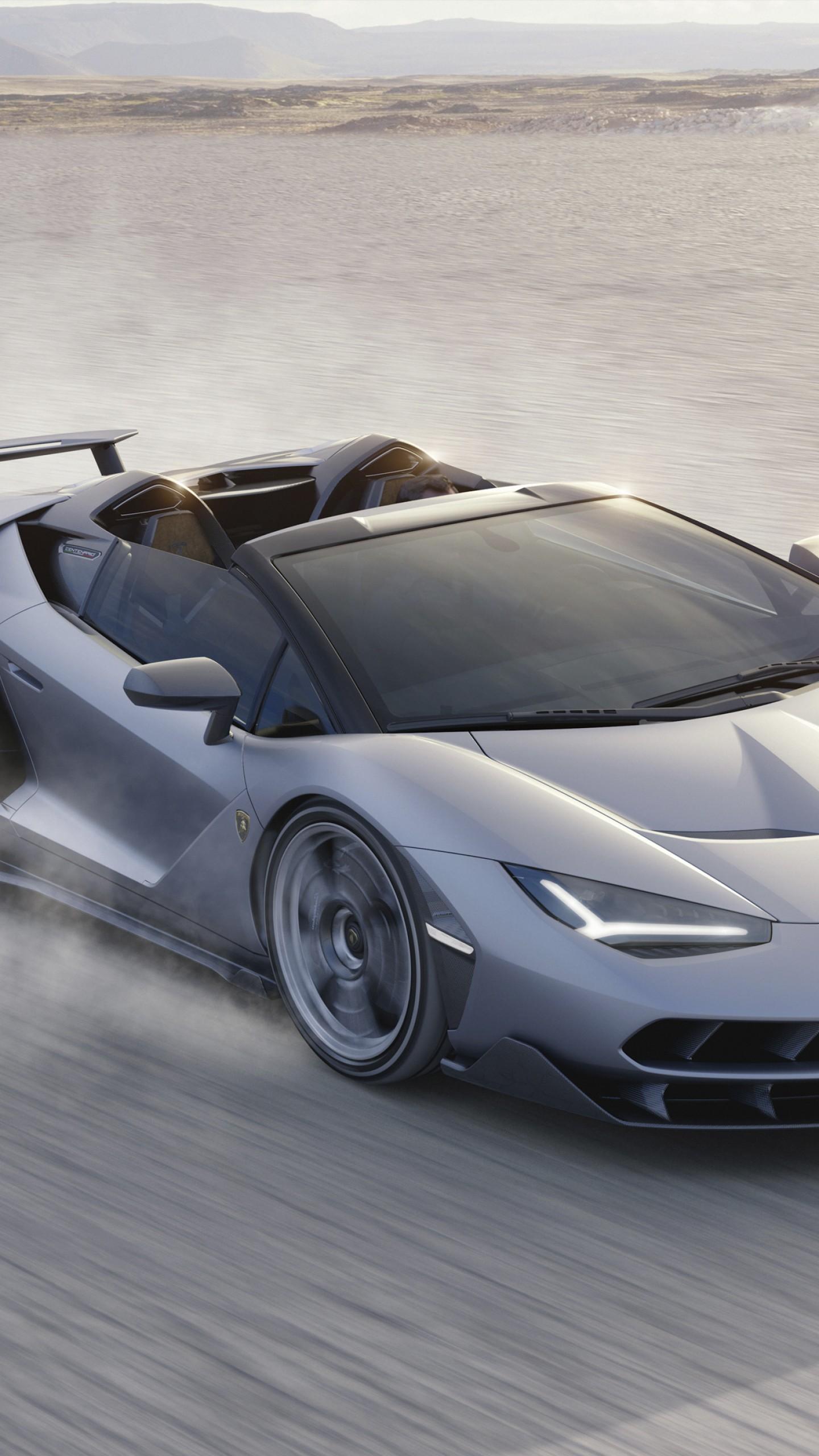 Wallpaper Lamborghini Centenario LP 770-4 Roadster ...