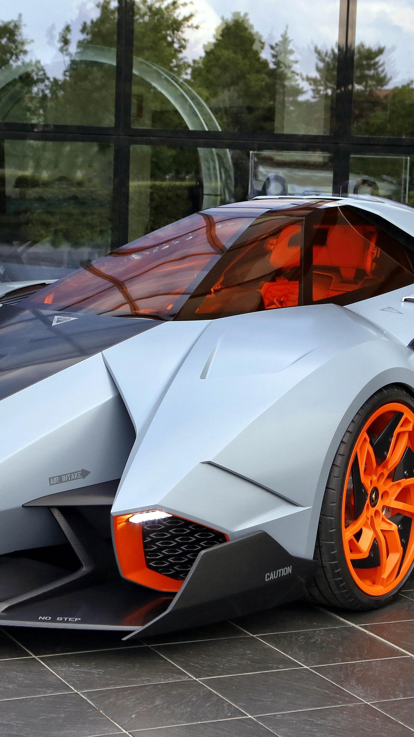 Wallpaper Lamborghini Egoista supercar concept