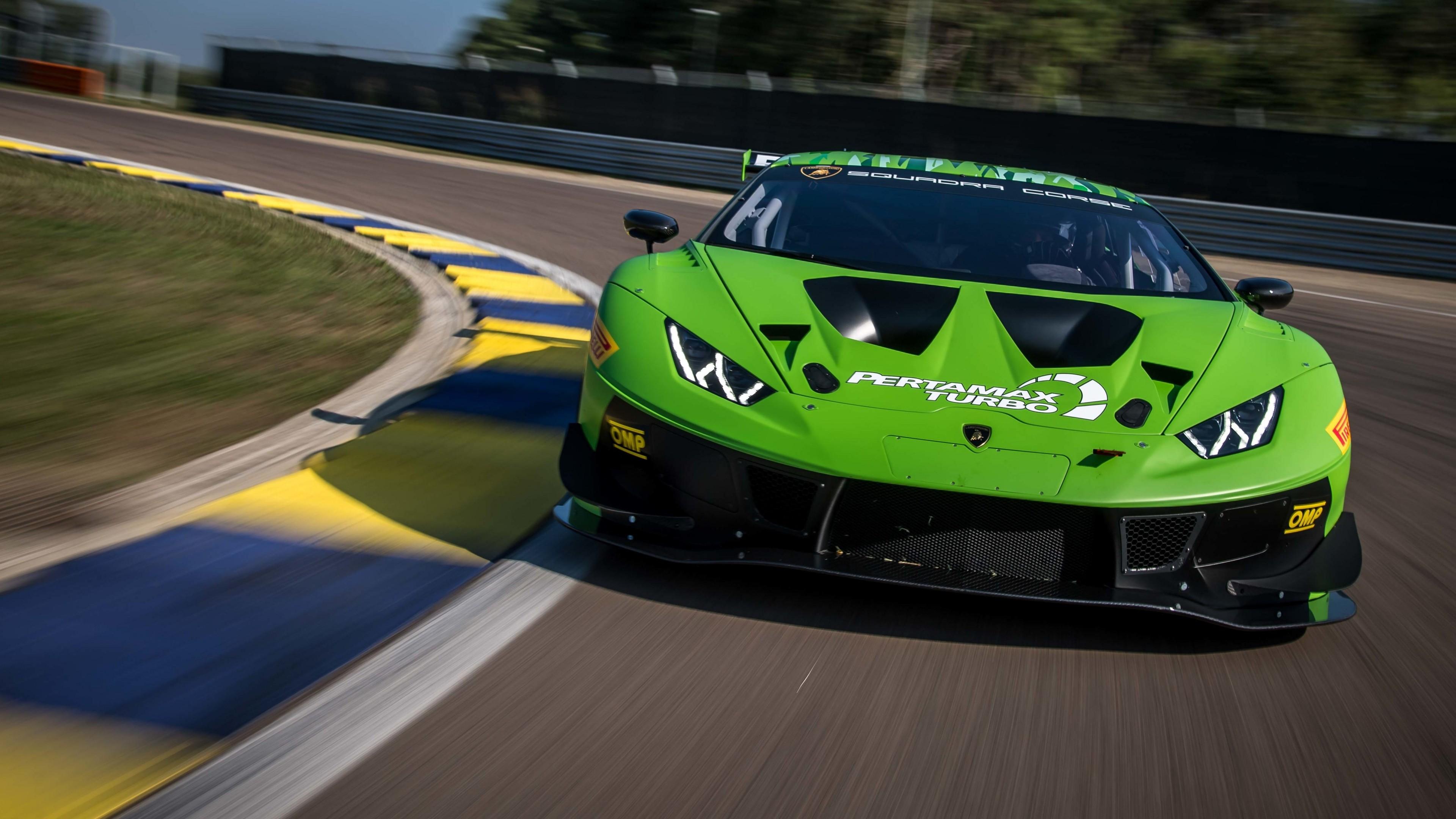 Wallpaper Lamborghini Huracan Gt3 Evo 2019 Cars 4k Cars