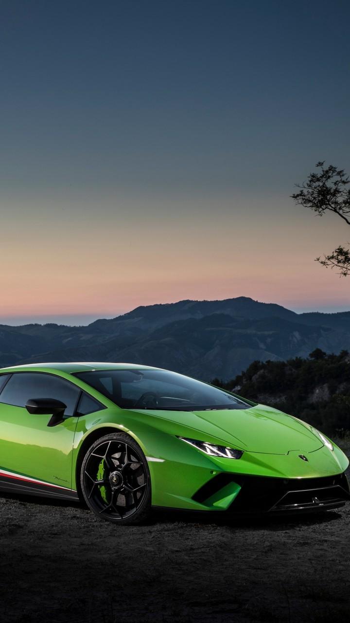 Wallpaper Lamborghini Huracan Performante 2018 Cars 7k