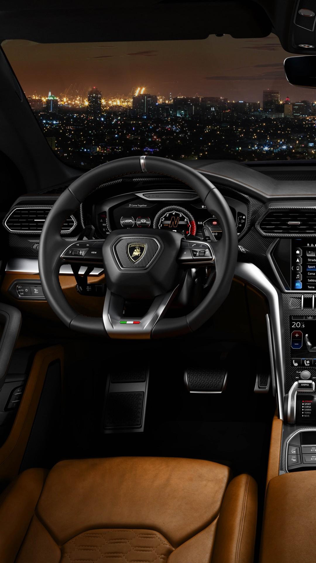 What Is A Crossover Suv >> Wallpaper Lamborghini Urus, 2018 Cars, , interior, 8k ...