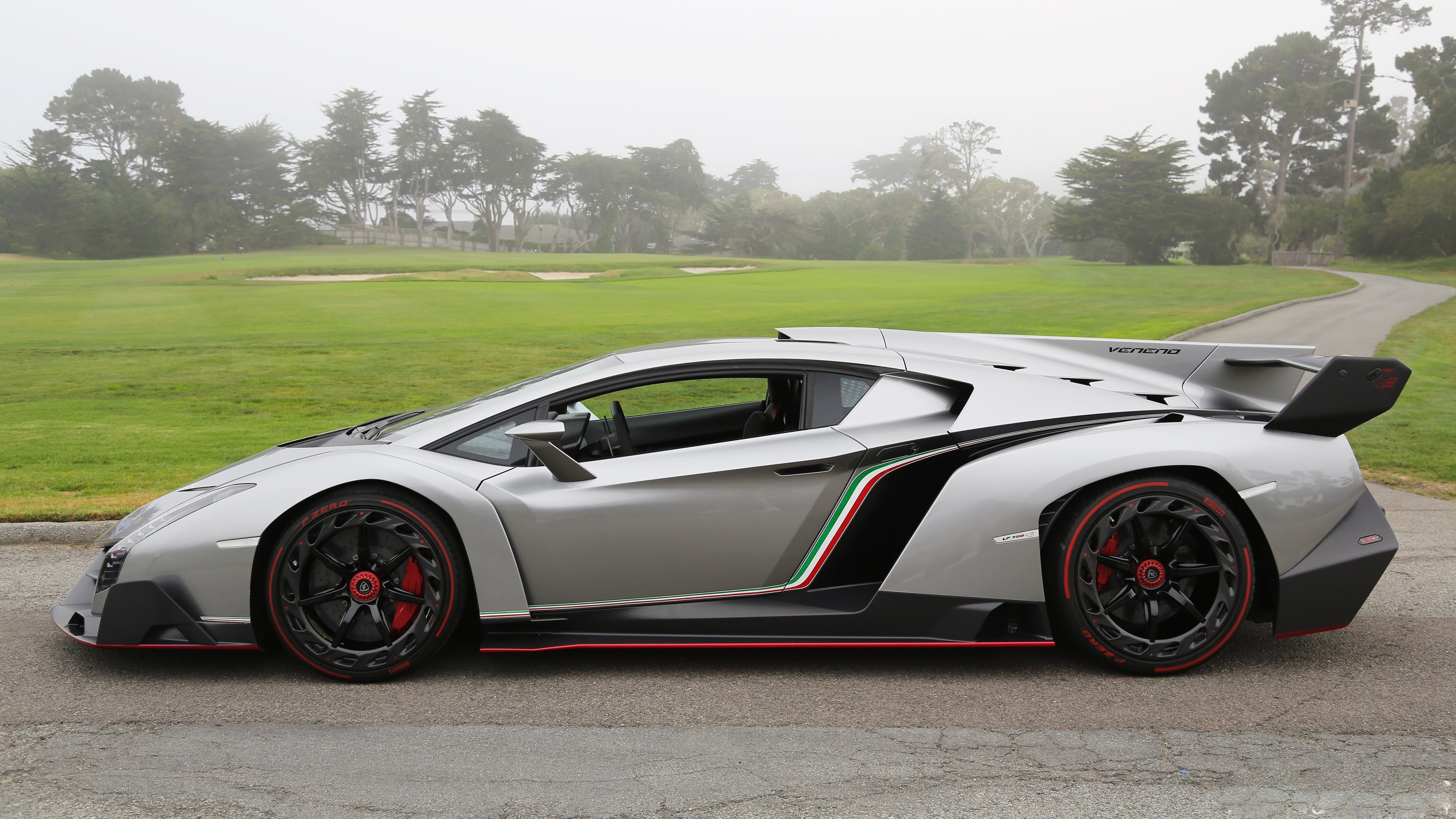 Wallpaper Lamborghini Veneno Supercar Lamborghini Sports Car Limited Edition Speed Side
