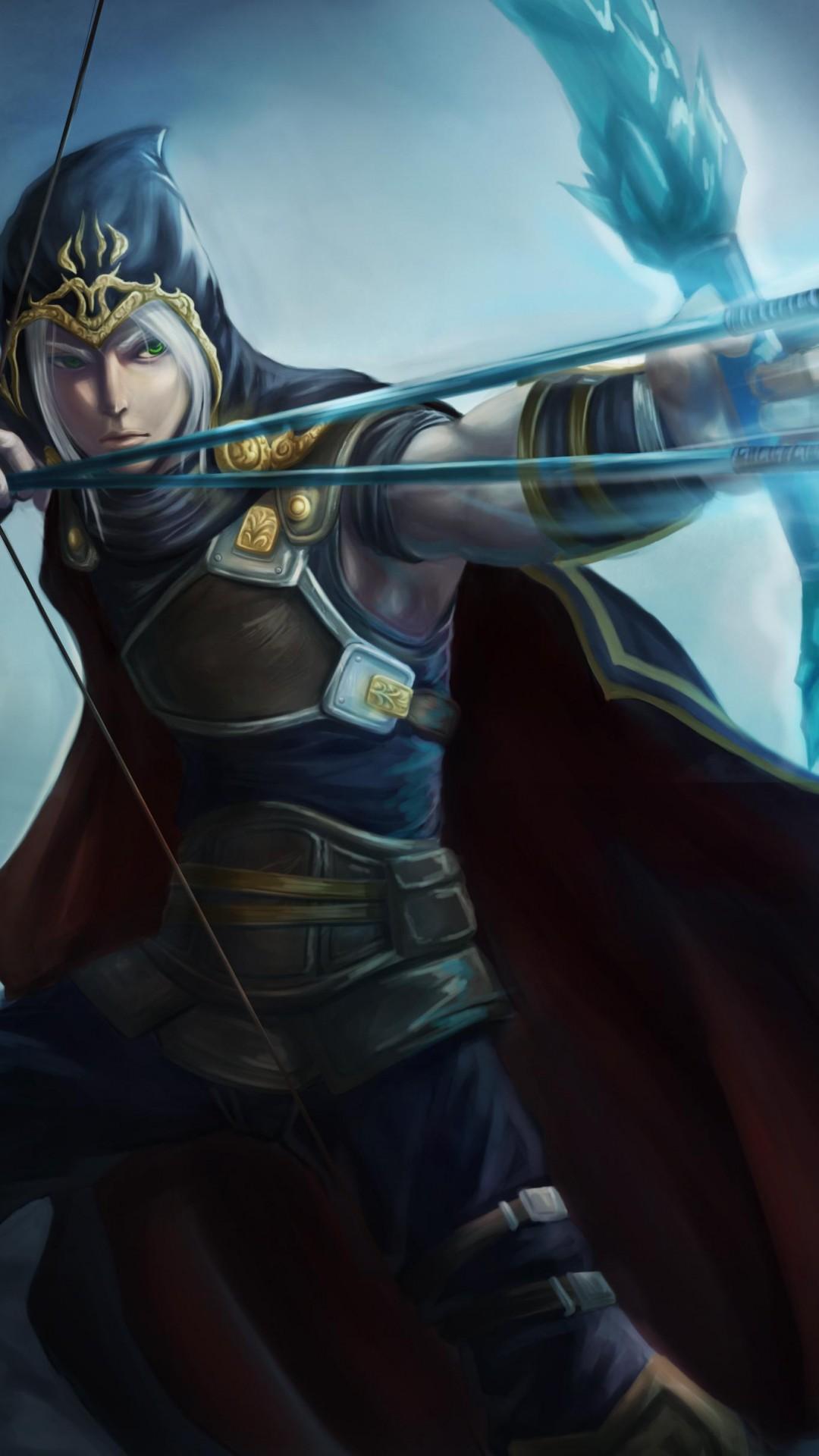 Wallpaper League Of Legends Game Lol Moba Archer