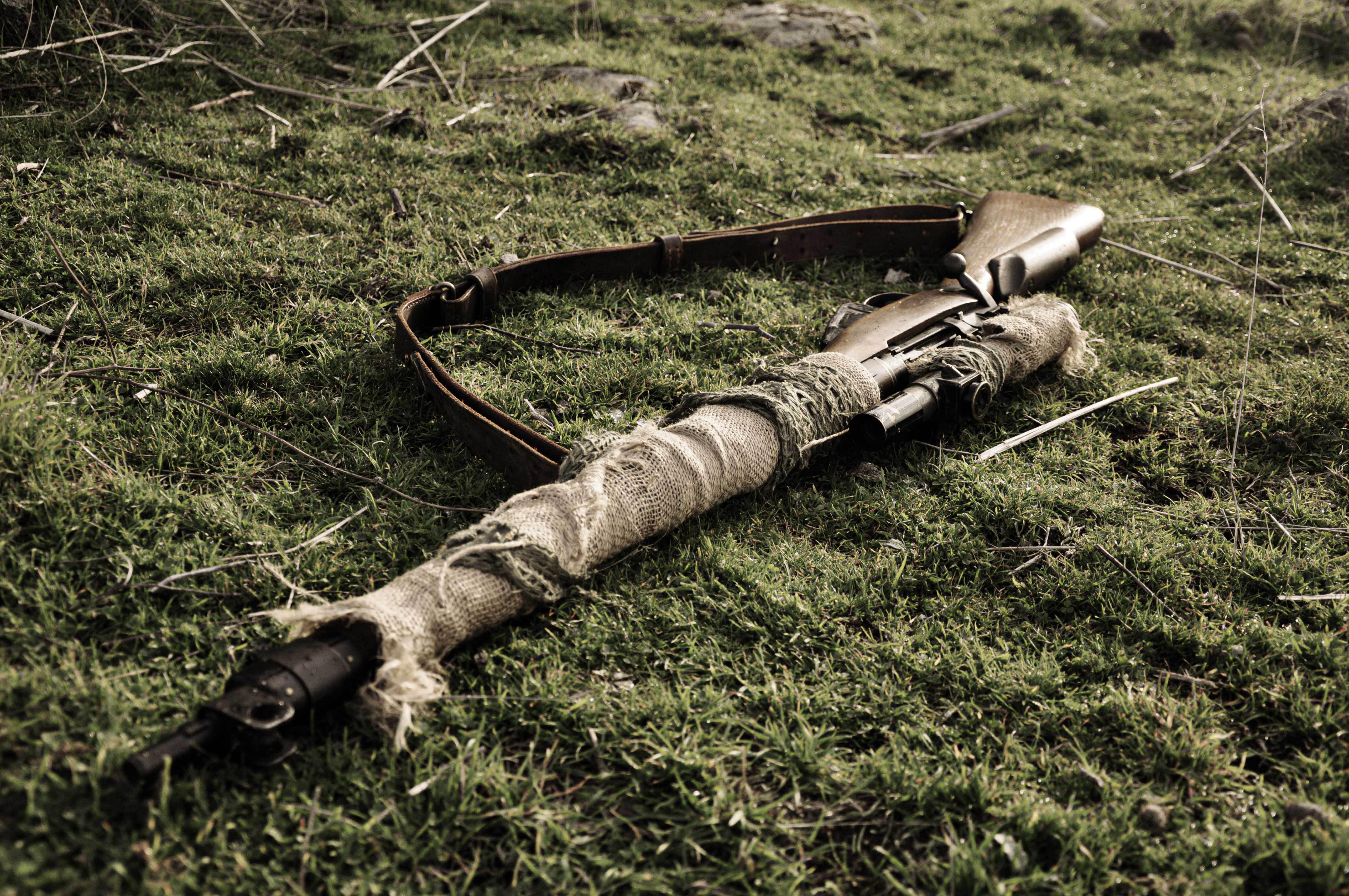 Wallpaper Lee Enfield Lee Enfield Sniper Rifle British
