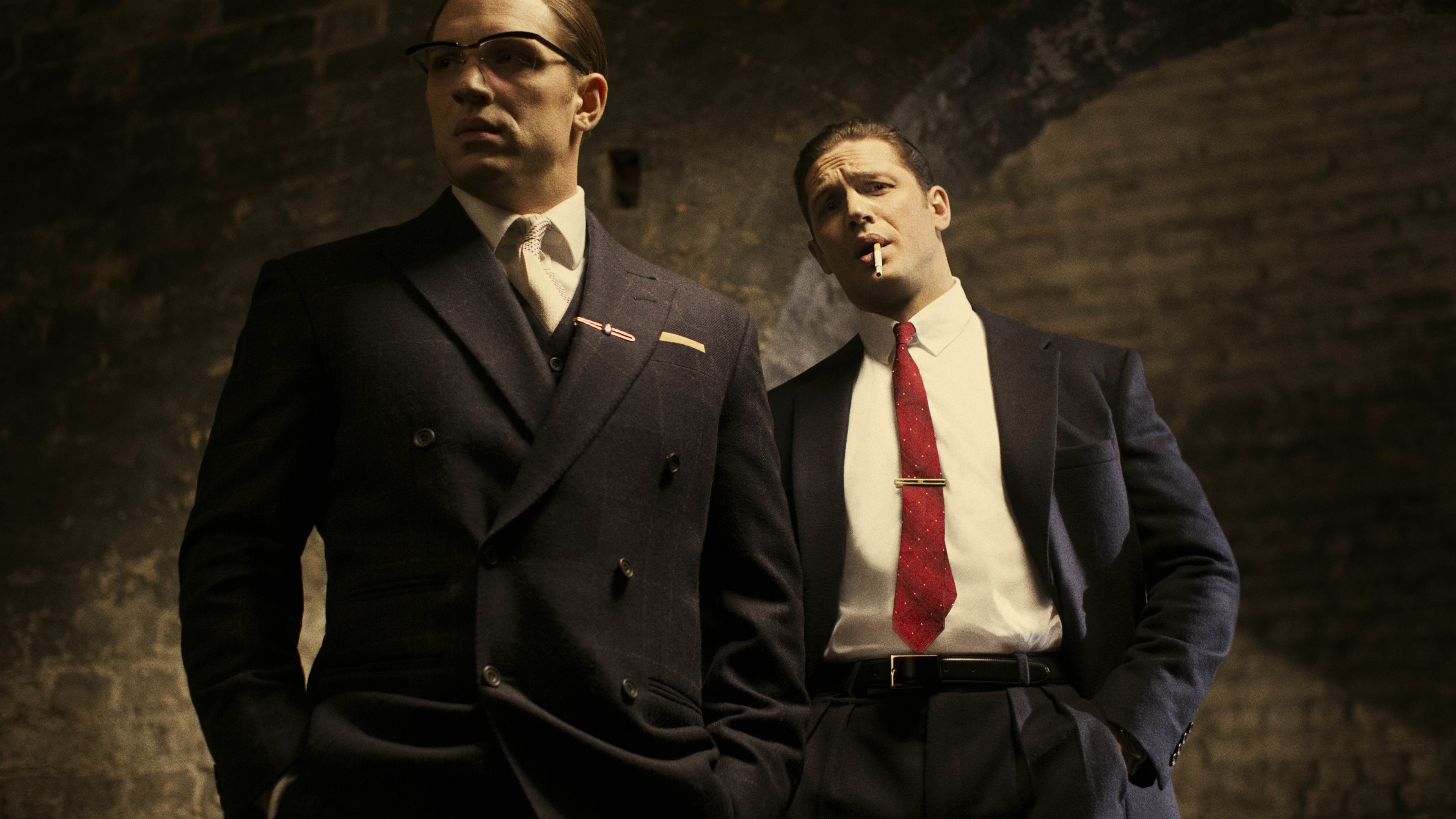 Wallpaper Legend Tom Hardy Emily Browning Movies 7224