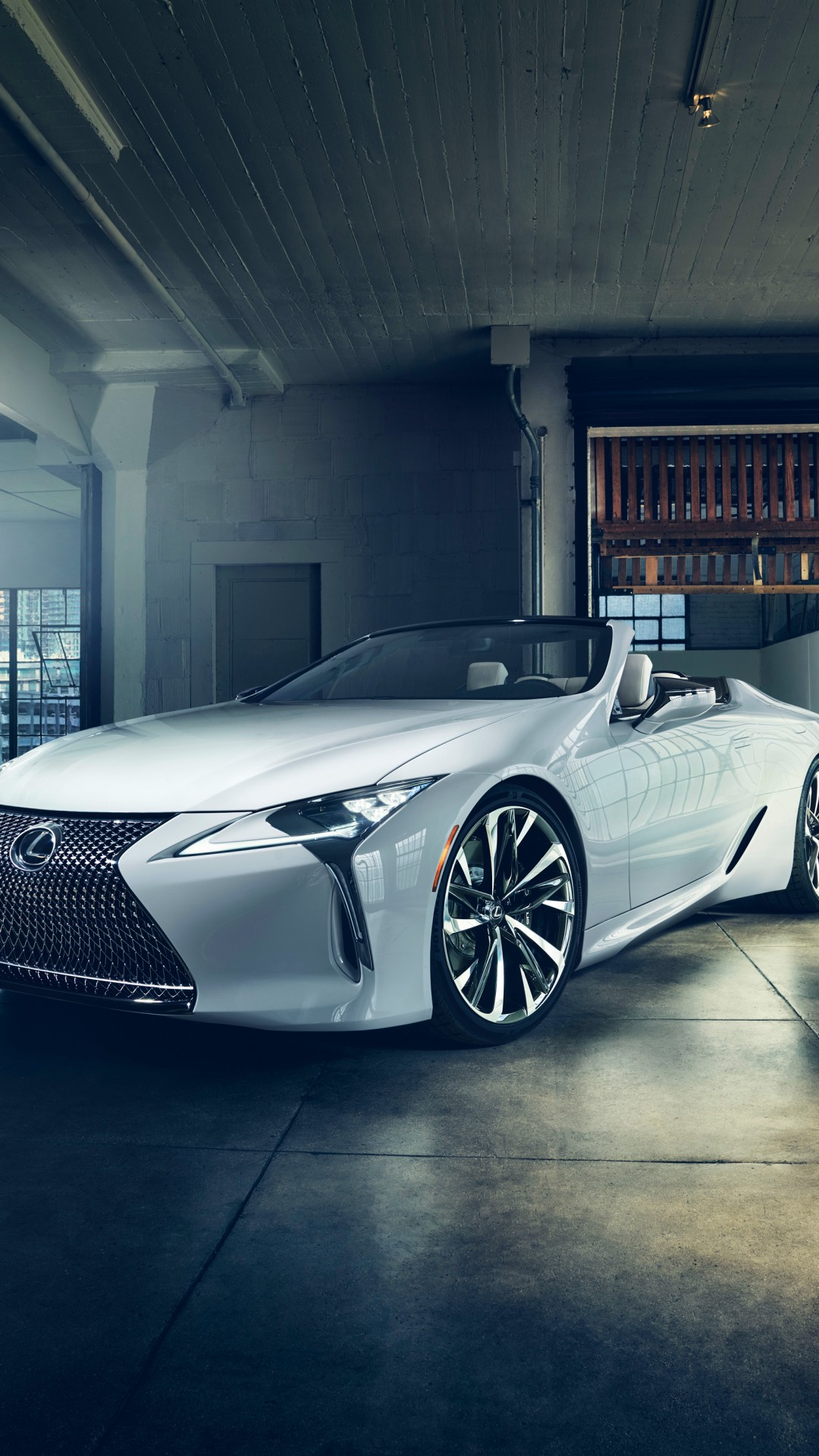 Wallpaper Lexus Lc Convertible 2019 Detroit Auto Show