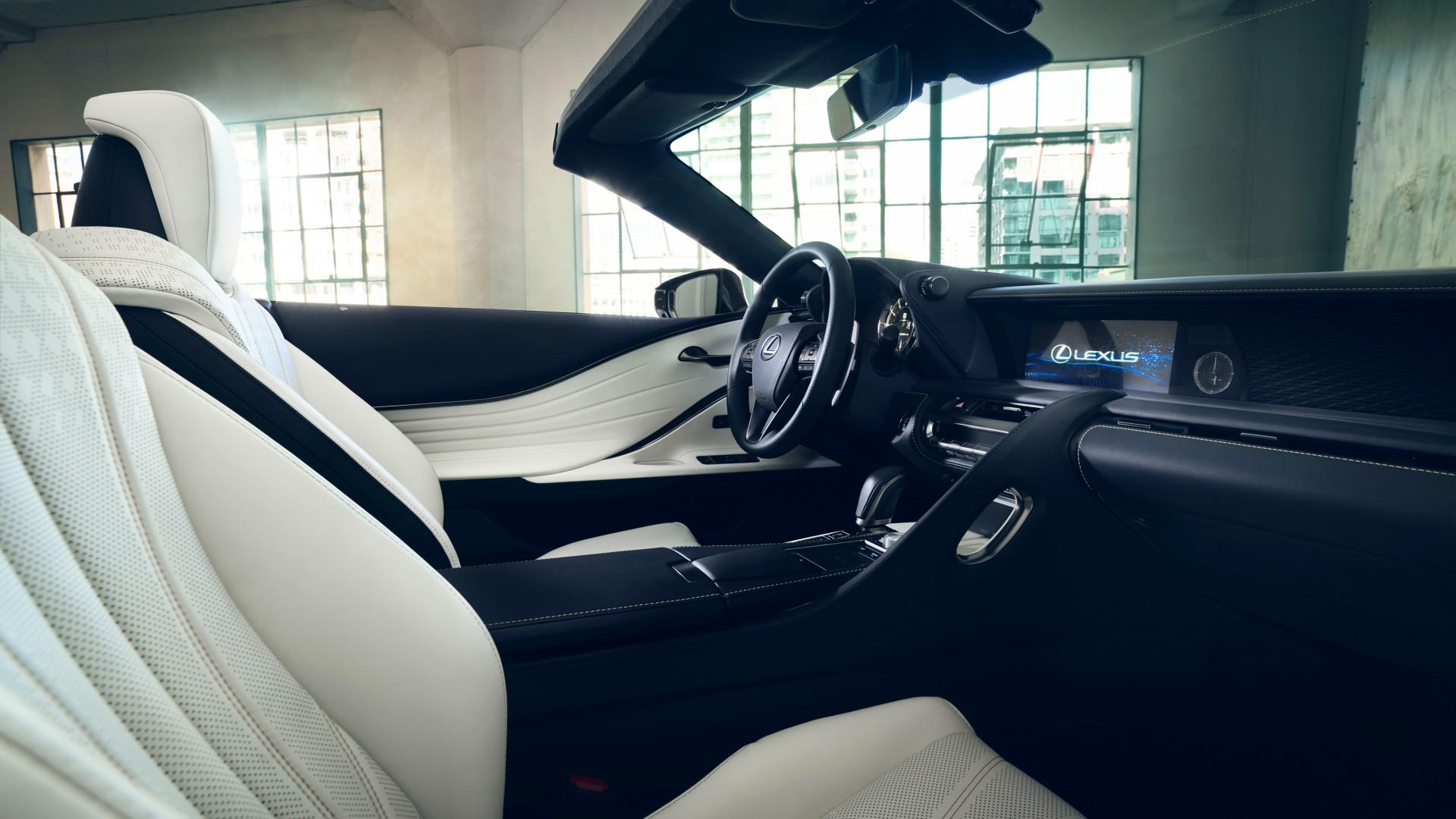Wallpaper Lexus LC Convertible, 2019 Detroit Auto Show, 2020 Cars, 4K, Cars & Bikes #21053