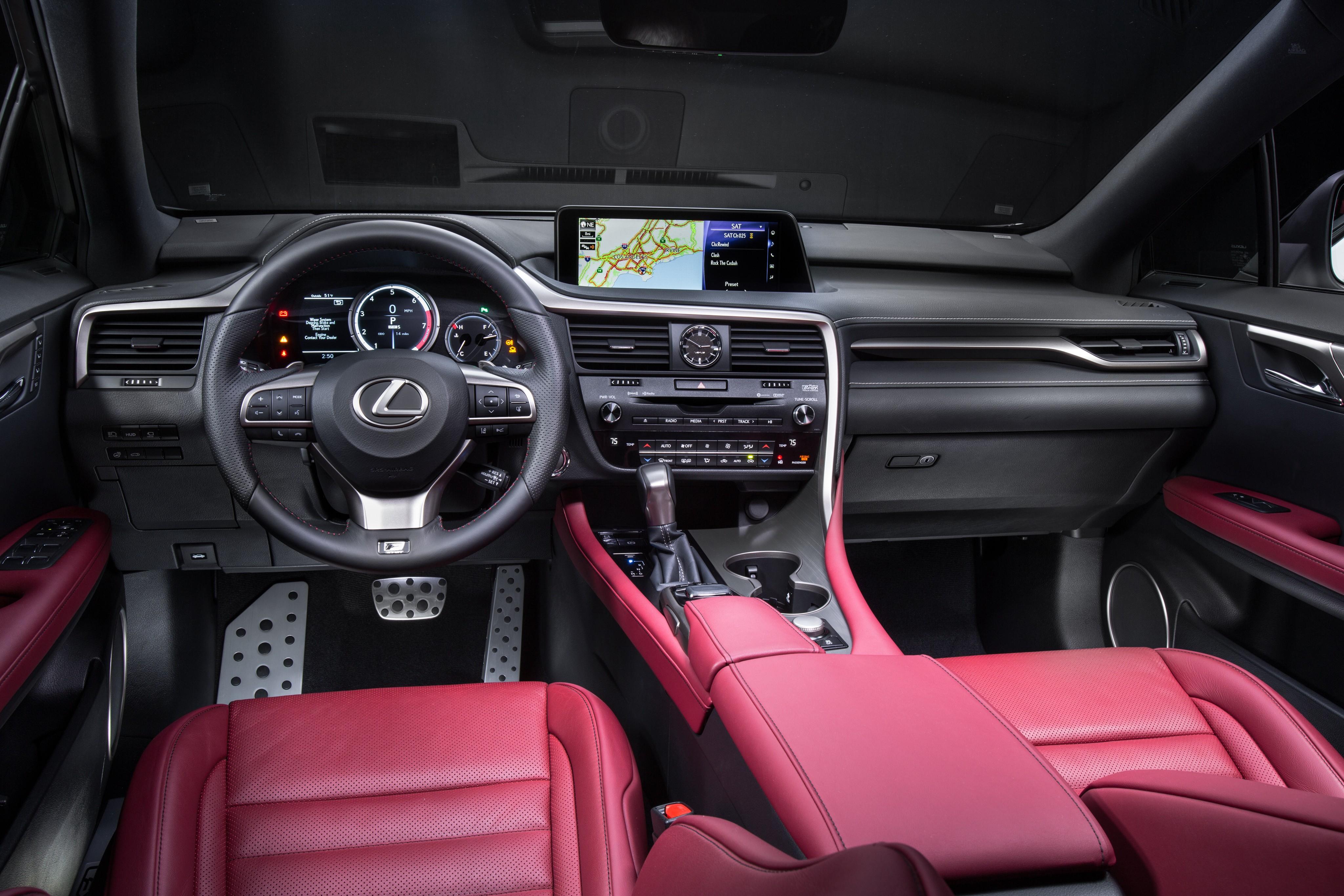 Wallpaper Lexus Rx Supercar Interior Luxury Cars Test