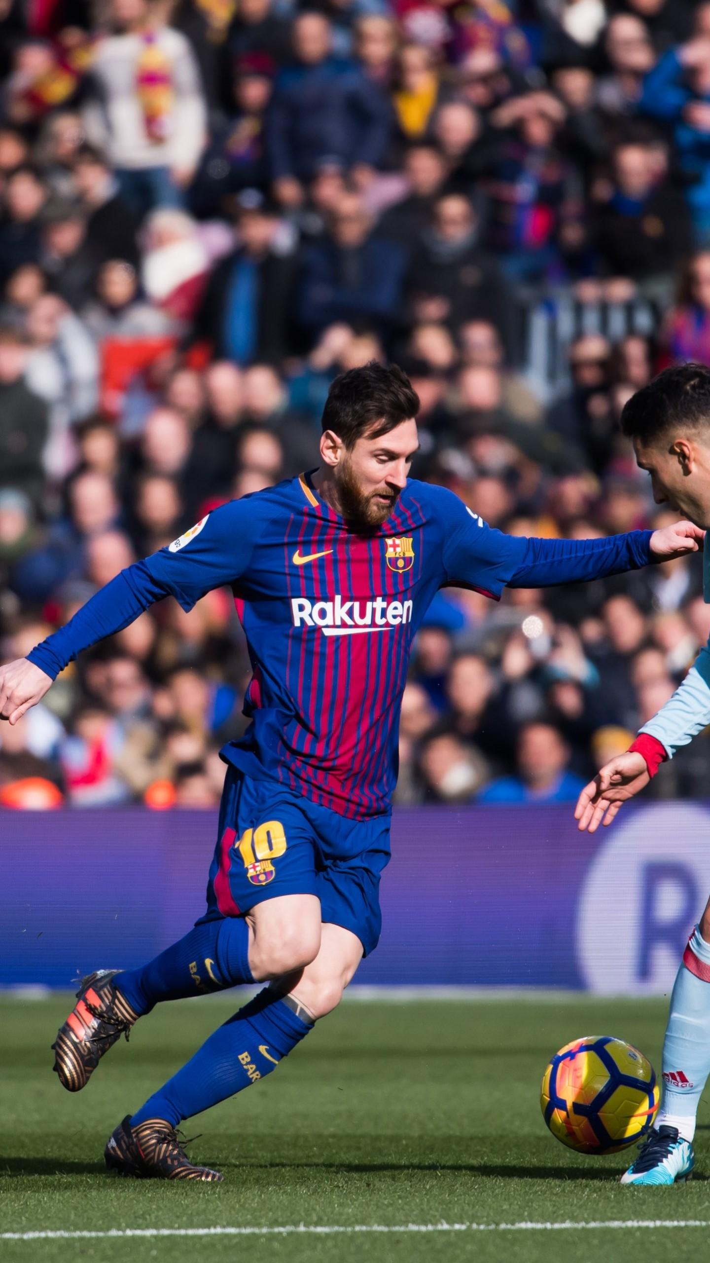 Wallpaper Lionel Messi, Barcelona, FCB, soccer, 4K, Sport ...
