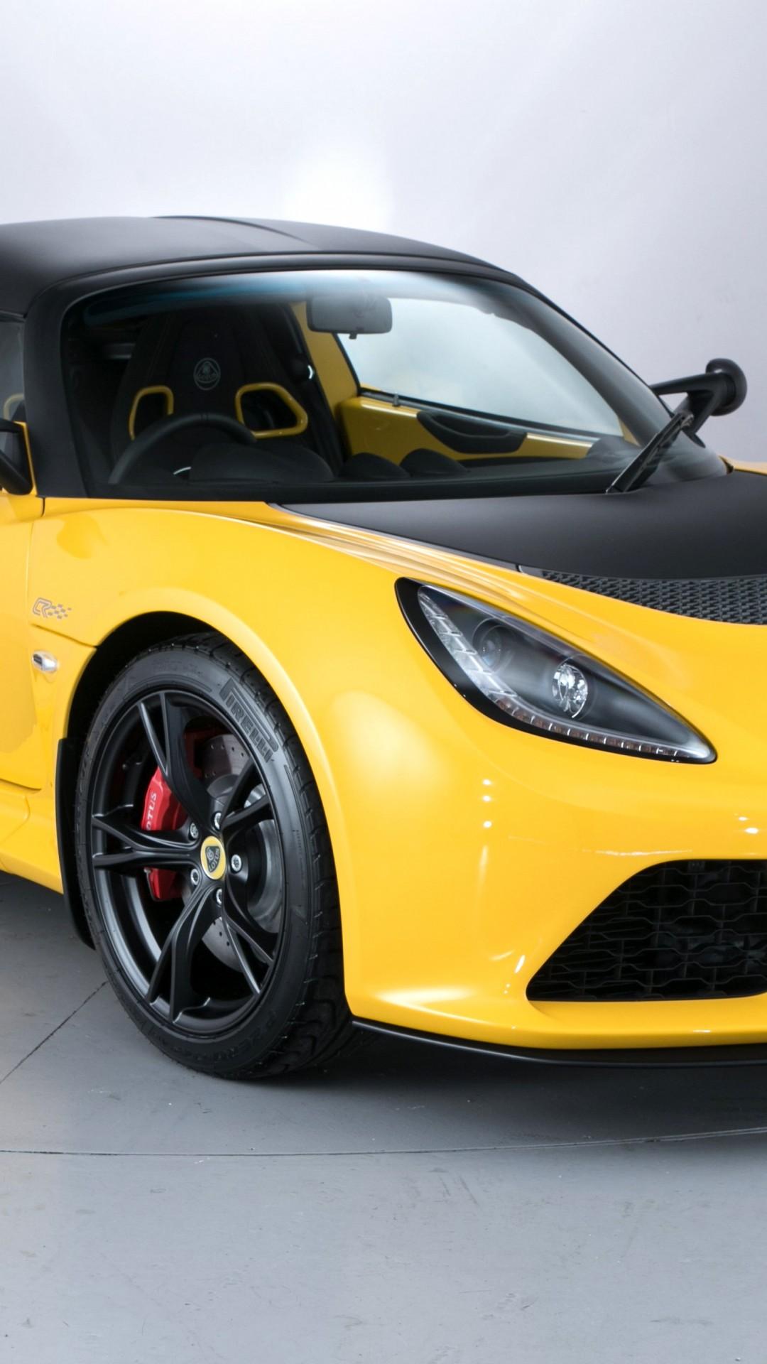 Lotus Exige S Club Racer X Supercar Yellow