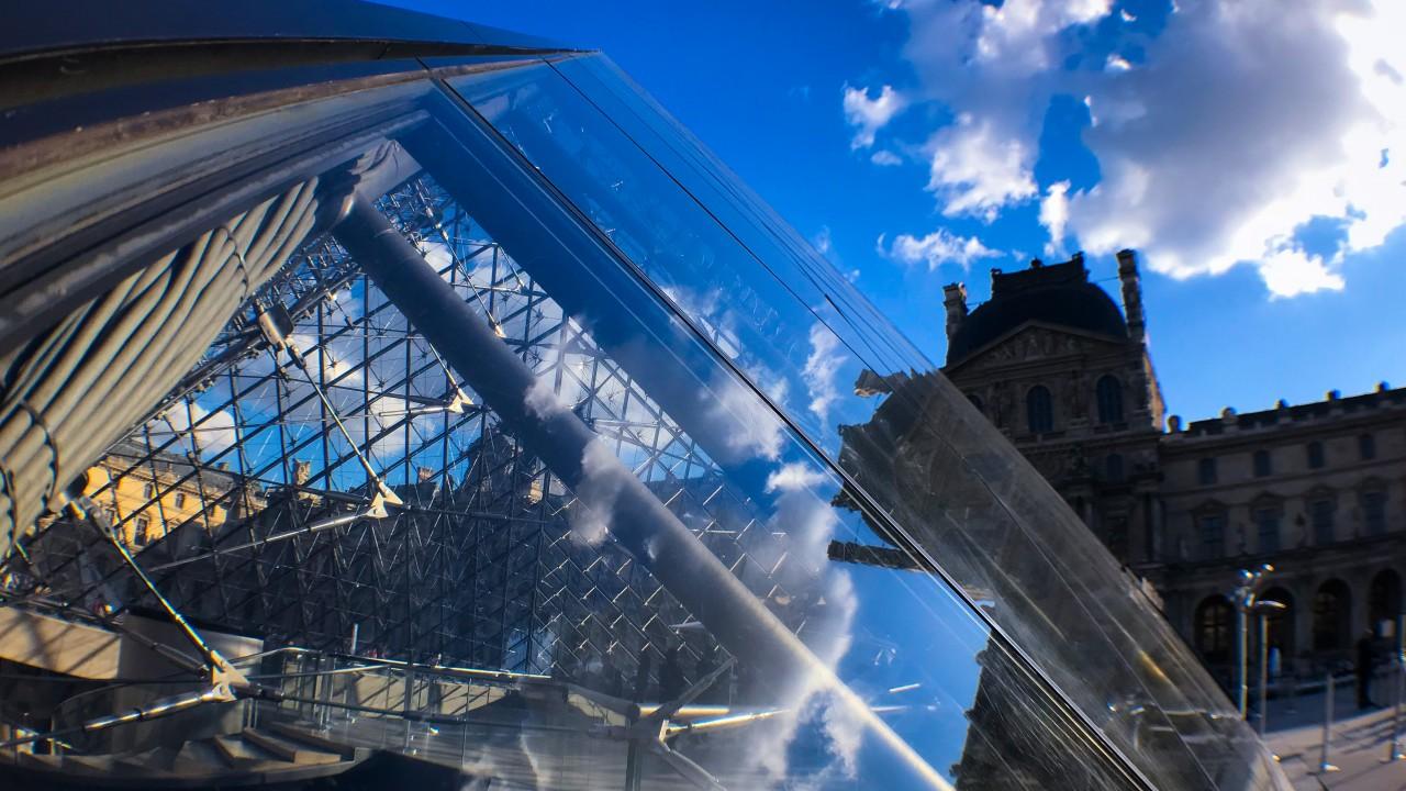 Wallpaper Louvre Museum Paris Europe 5k Travel 15893