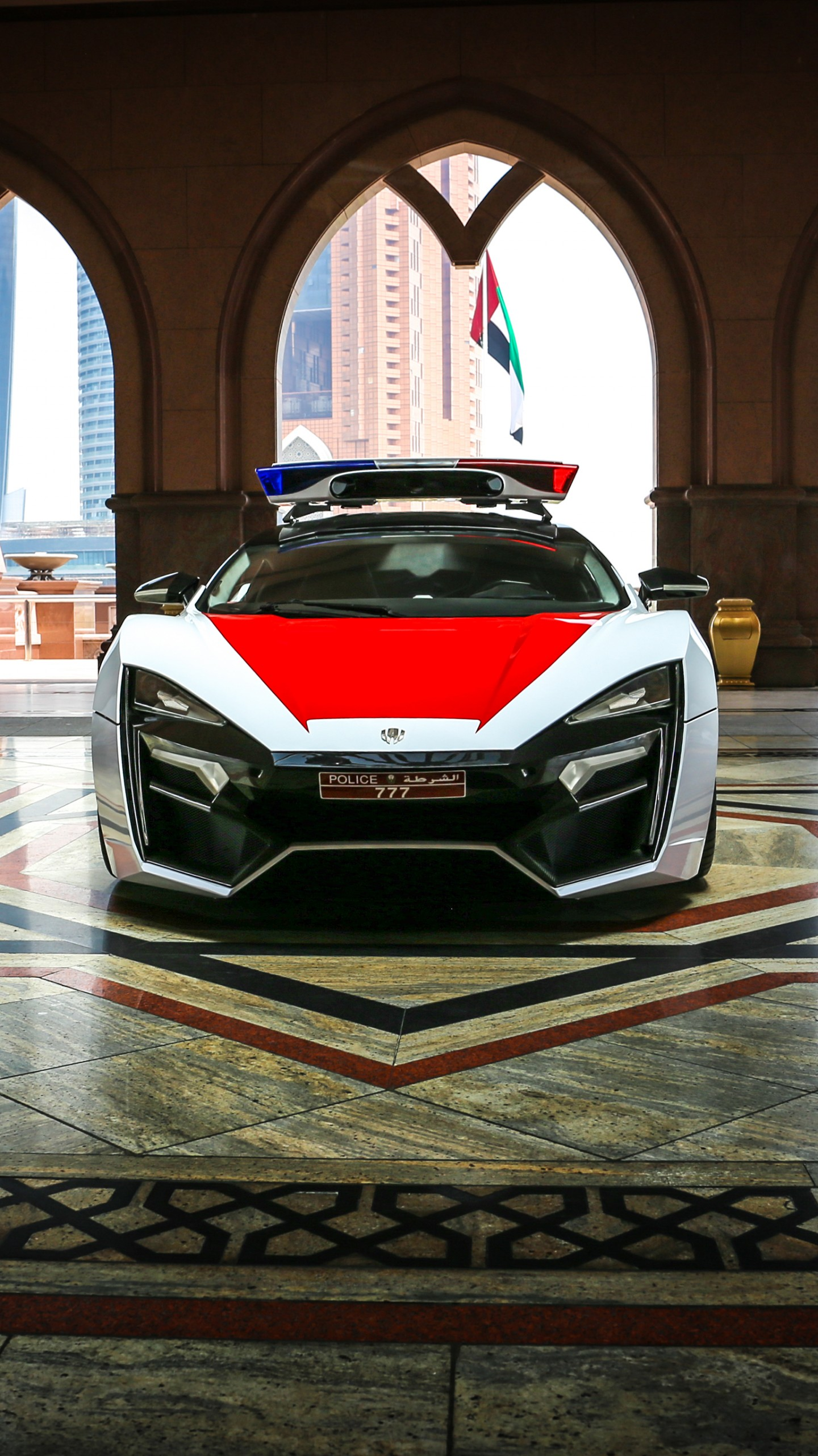 Wallpaper Lykan Hypersport, Police Car, Police, Cars
