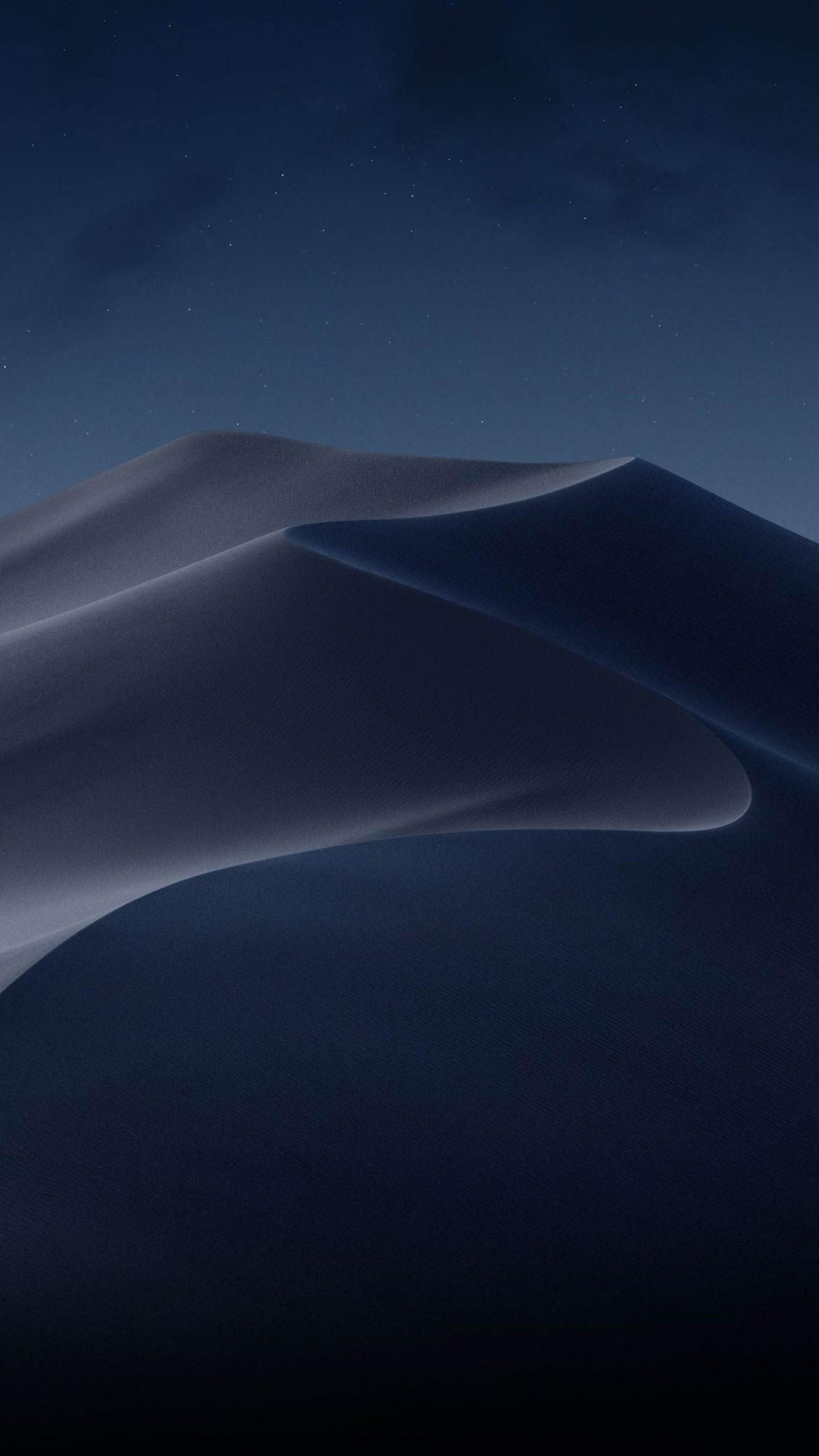 Wallpaper Macos Mojave Night Dunes Wwdc 2018 4k Os 18883