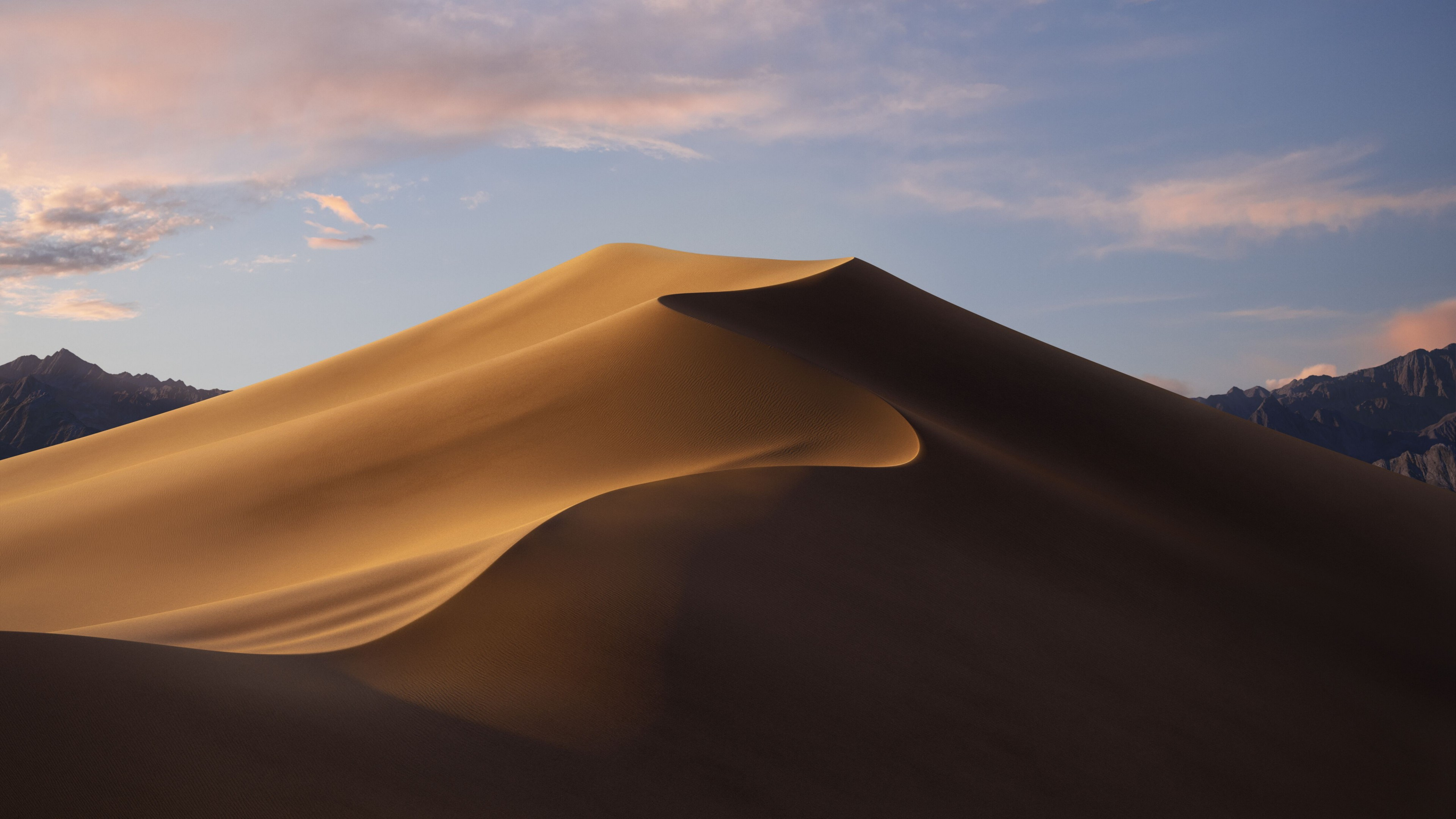 Wallpaper macOS Mojave, Day, Dunes, WWDC 2018, 5K, OS #18882