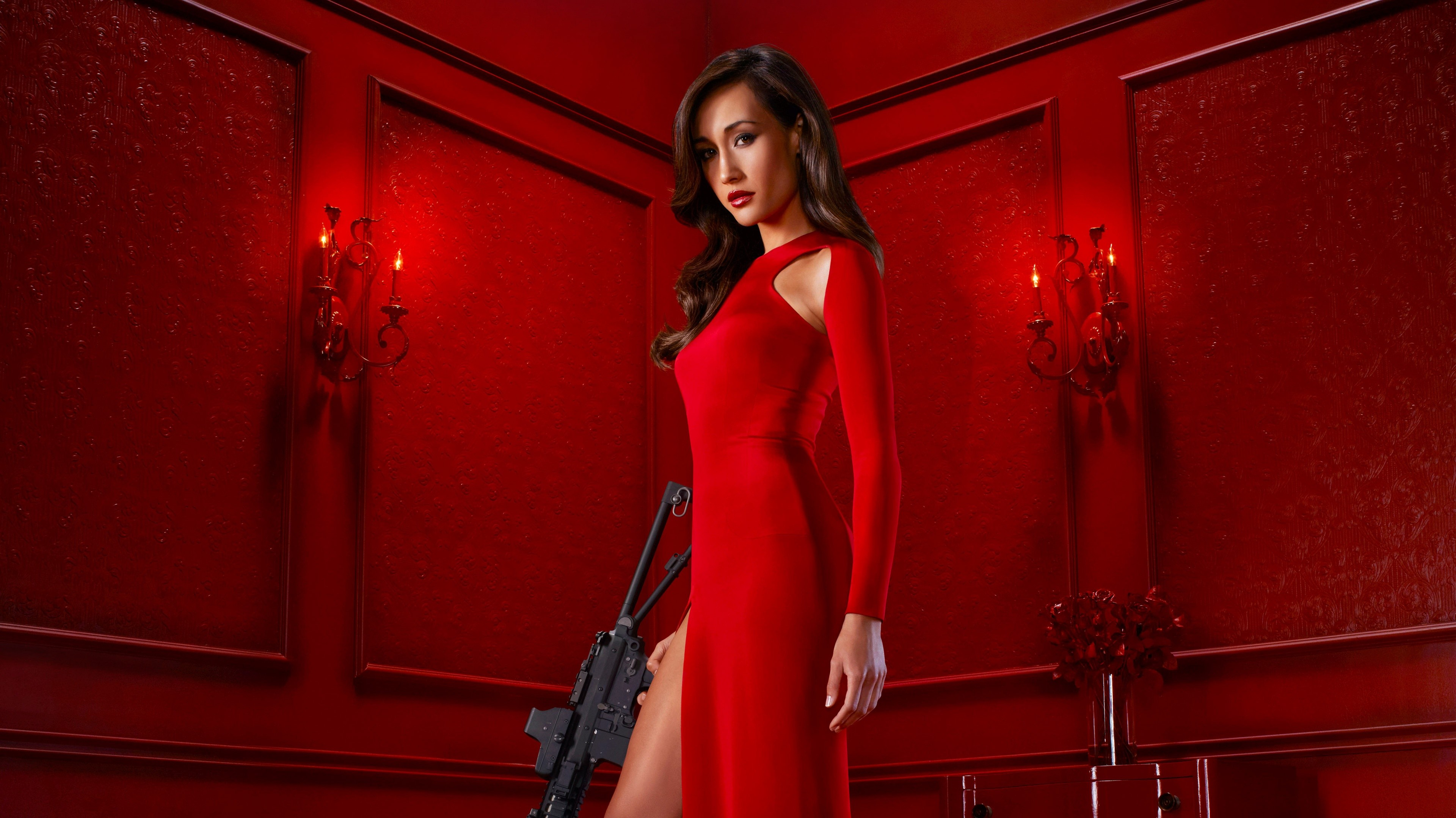 BMW Of Murray >> Wallpaper MAGGIE Q, red dress, l ook, Most popular celebs ...