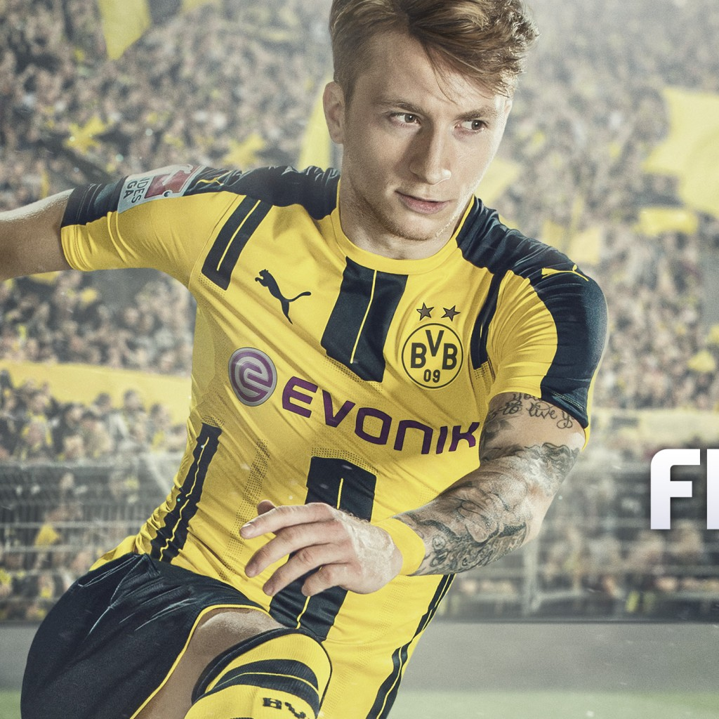 Wallpaper Marco Reus FIFA 17 HD 4k Games