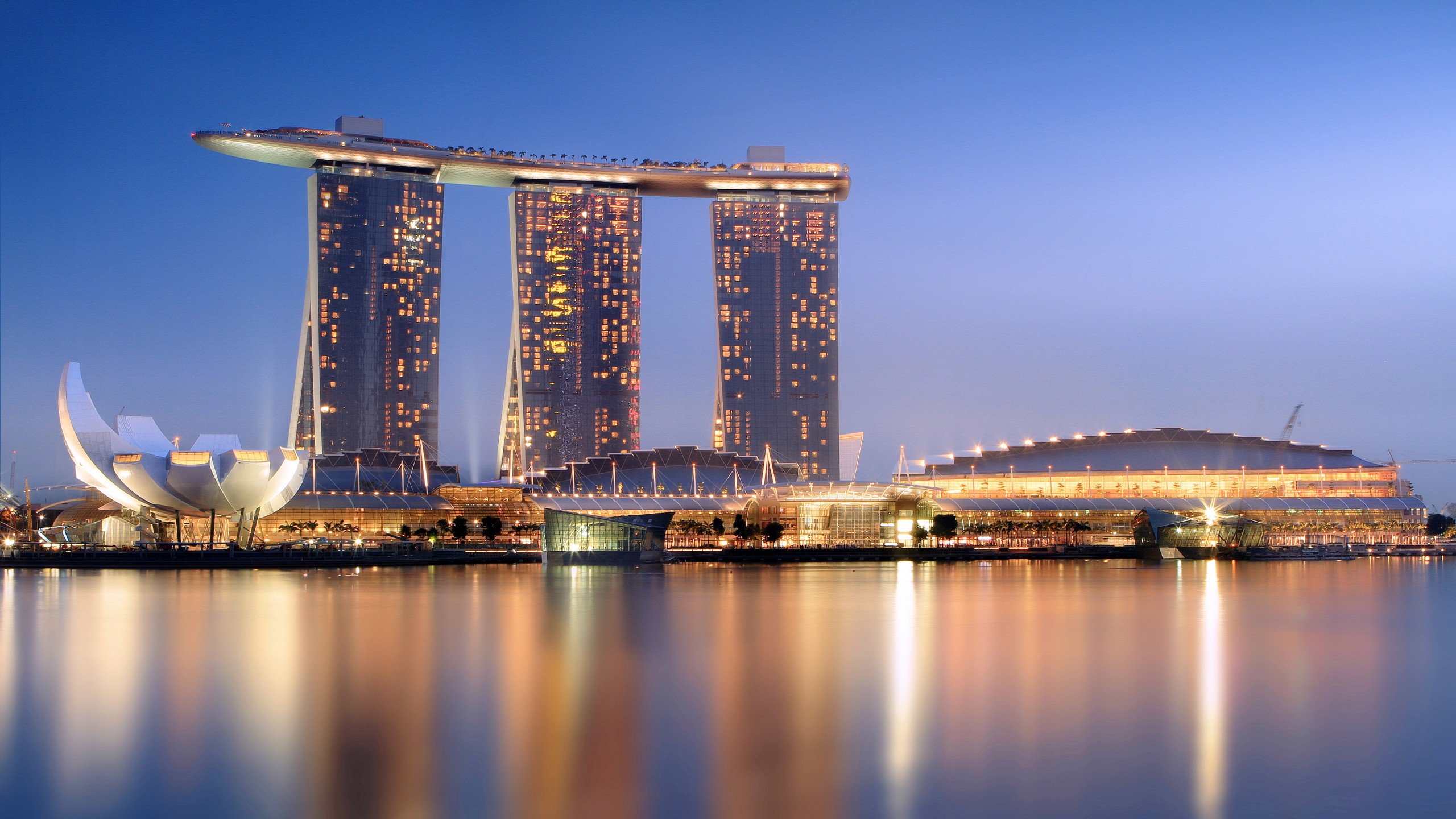 Wallpaper Marina Bay Sands Hotel Travel Booking Pool