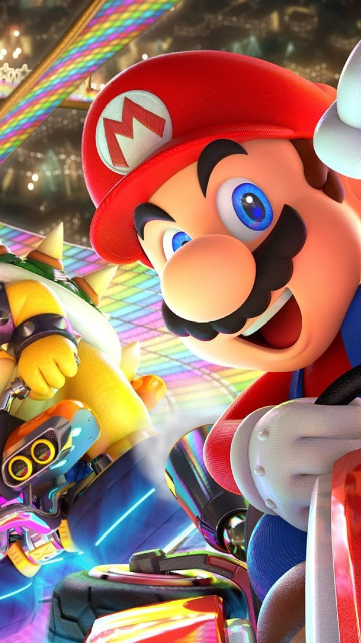 Wallpaper Mario Kart 8...