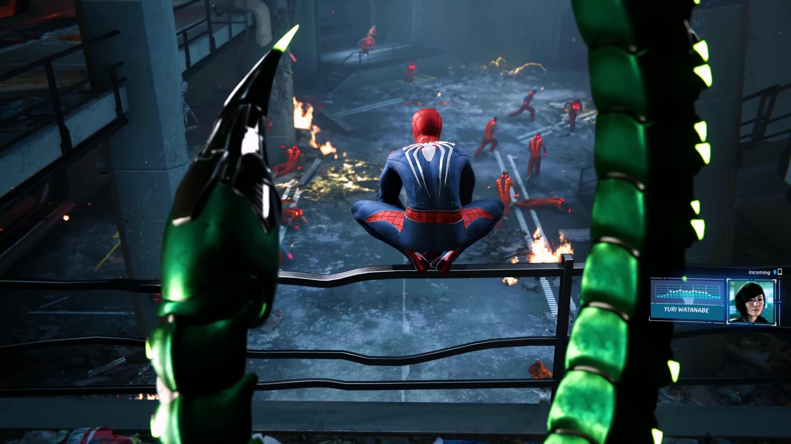 wallpaper marvel's spider-man, e3 2018, screenshot, 4k, games #19182