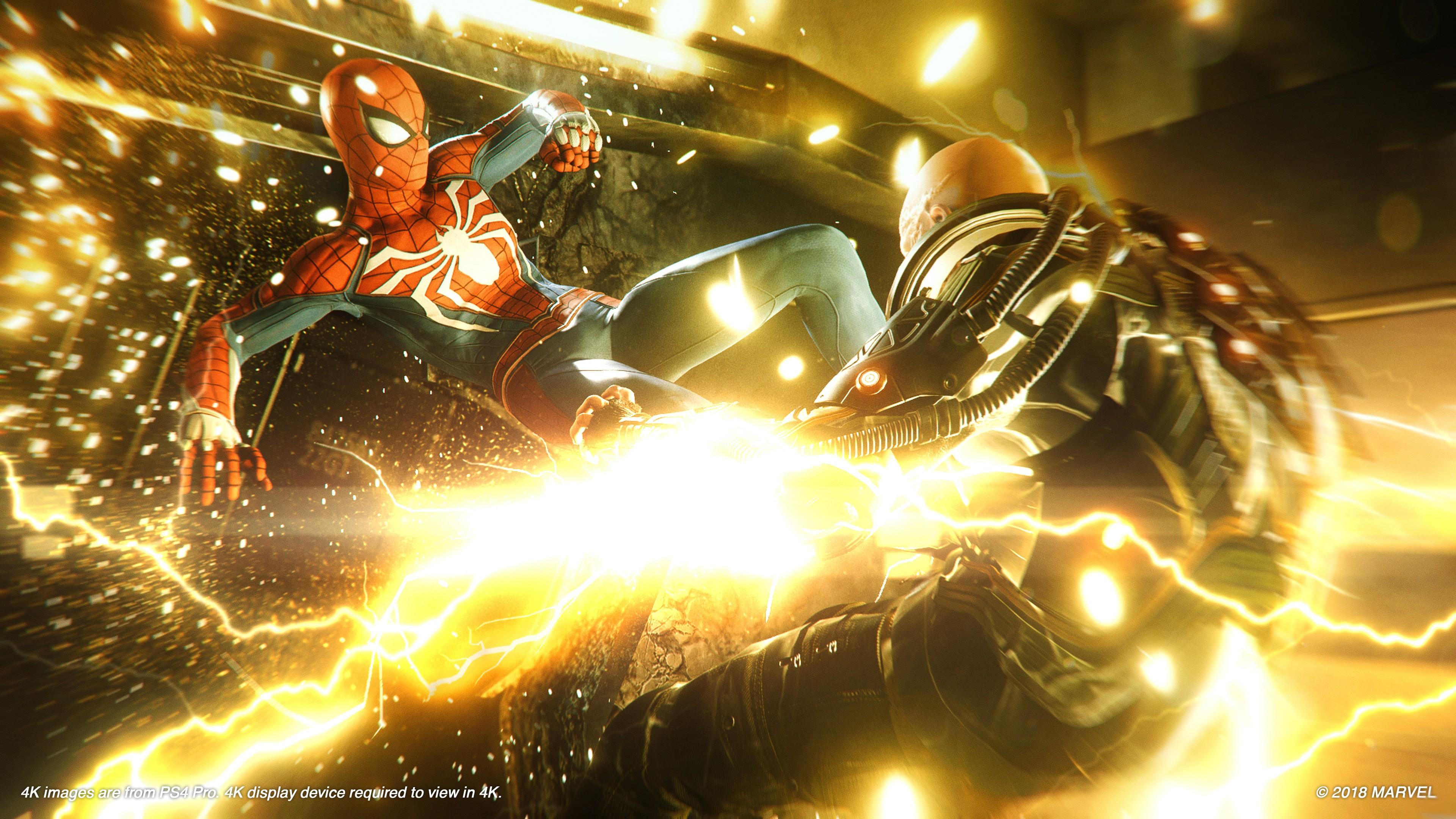 Wallpaper Marvels Spider Man E3 2018 screenshot 4K