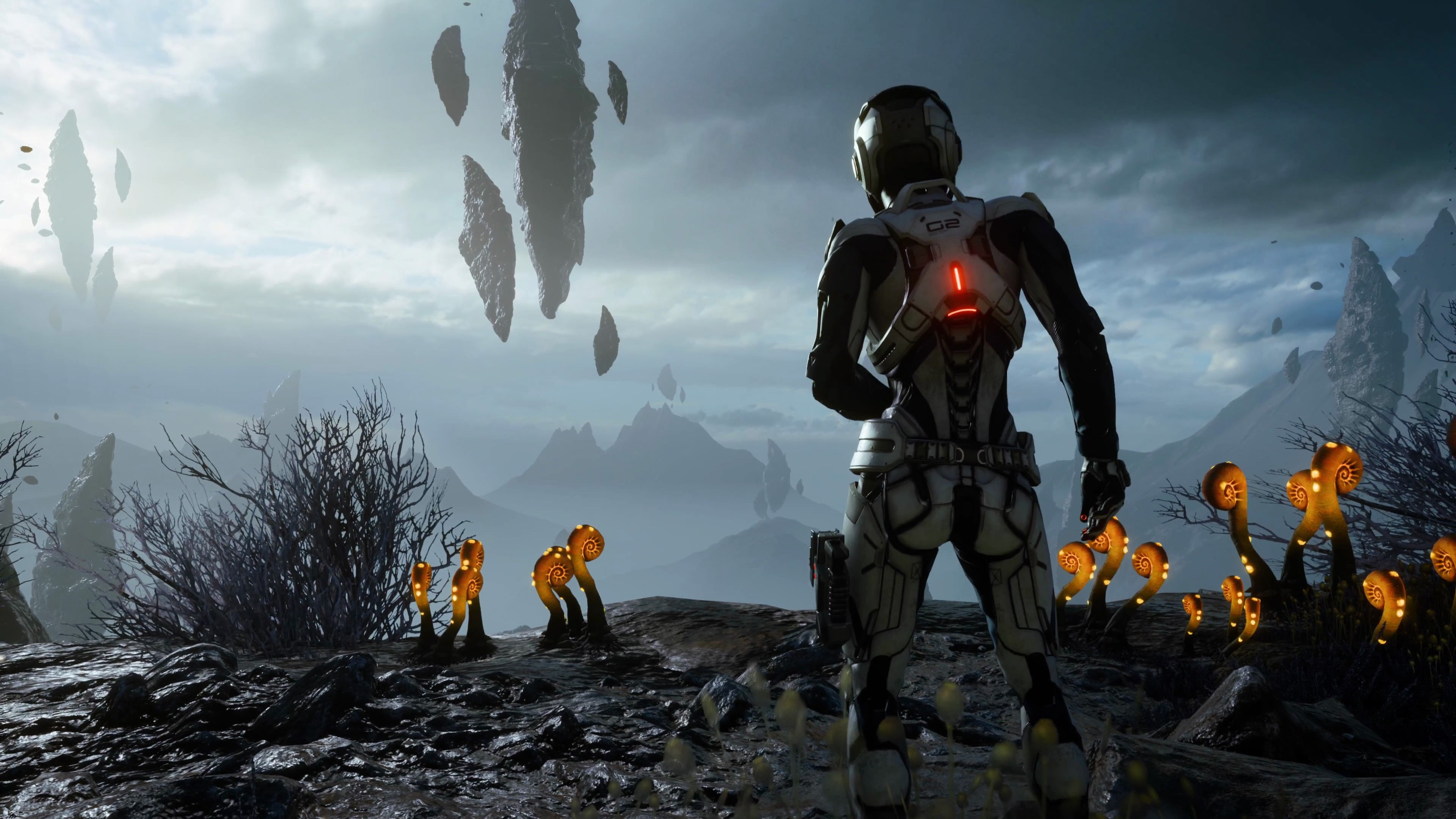 Wallpaper Mass Effect Andromeda Mass Effect Shooter Best Games