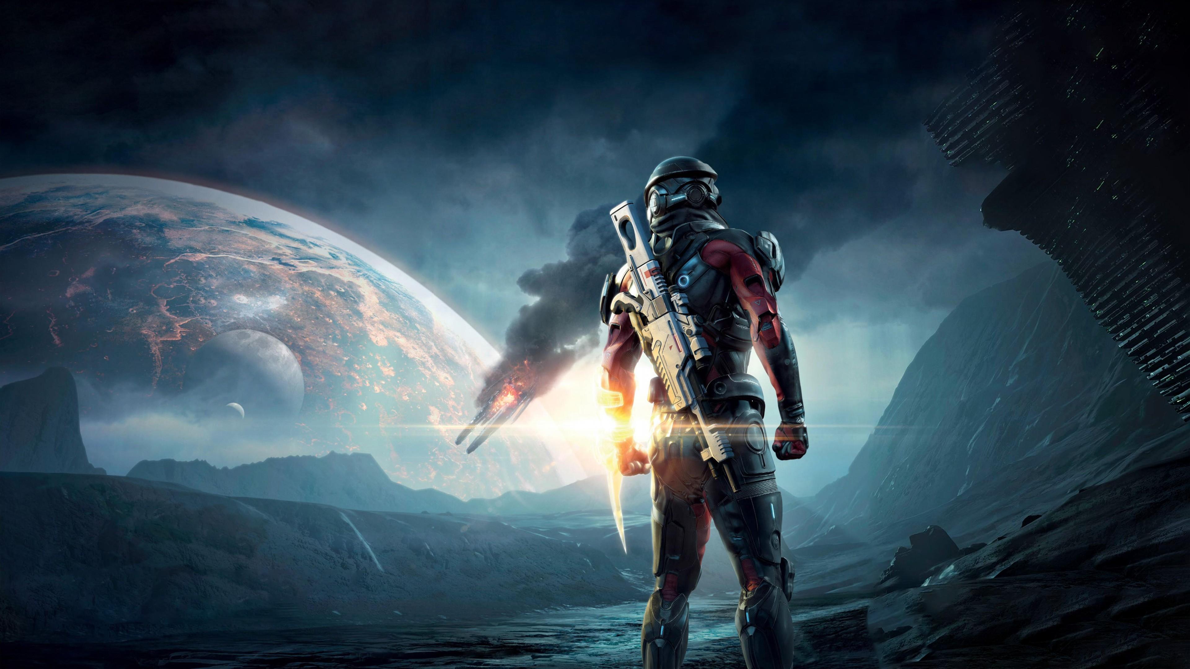 Wallpaper Mass Effect Andromeda Mass Effect Shooter