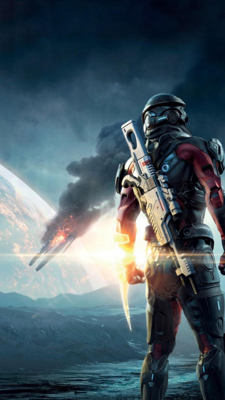 Wallpaper Mass Effect: Andromeda, mass effect, shooter ...