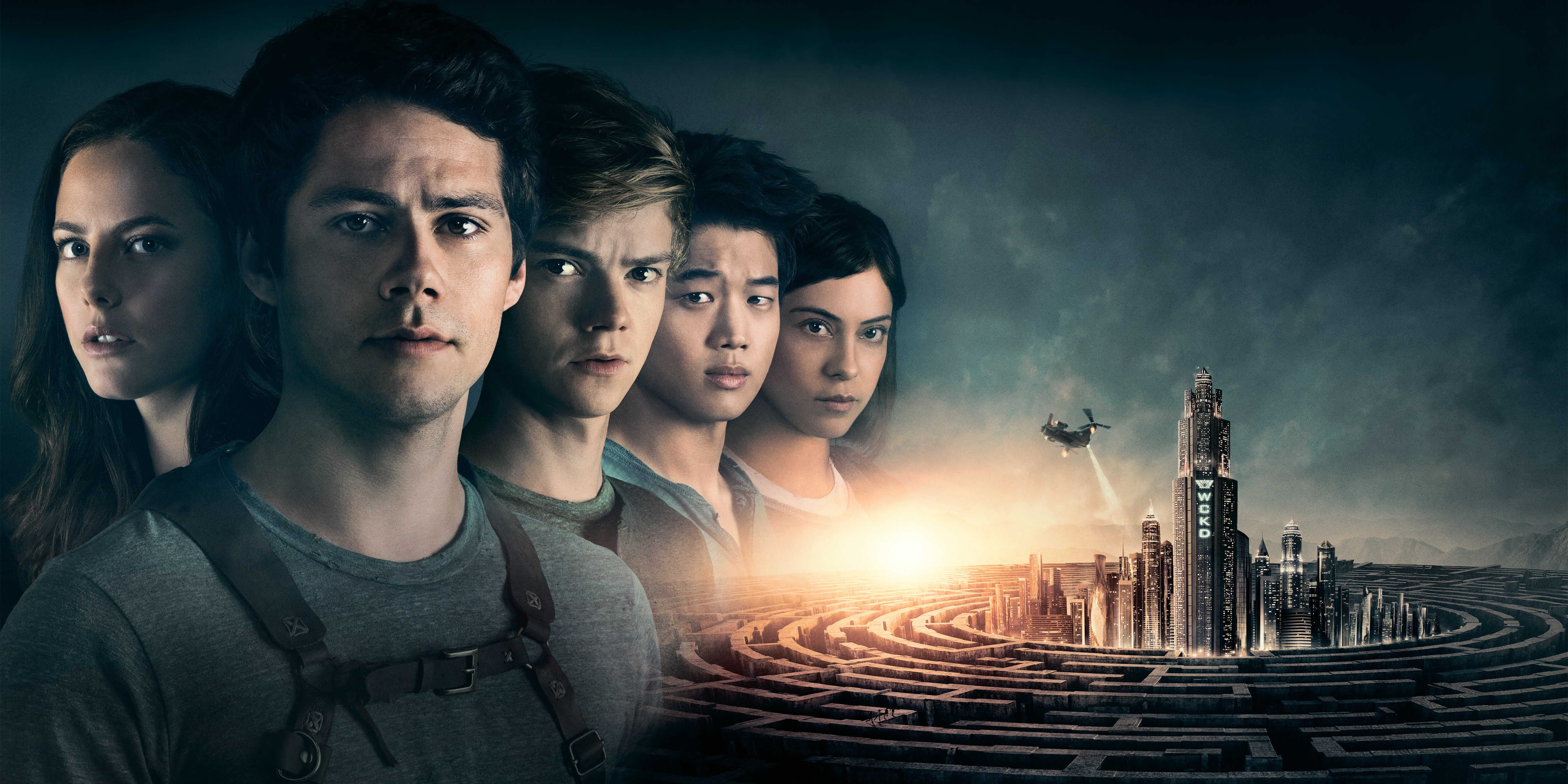 Wallpaper Maze Runner The Death Cure Dylan OBrien Thomas Brodie