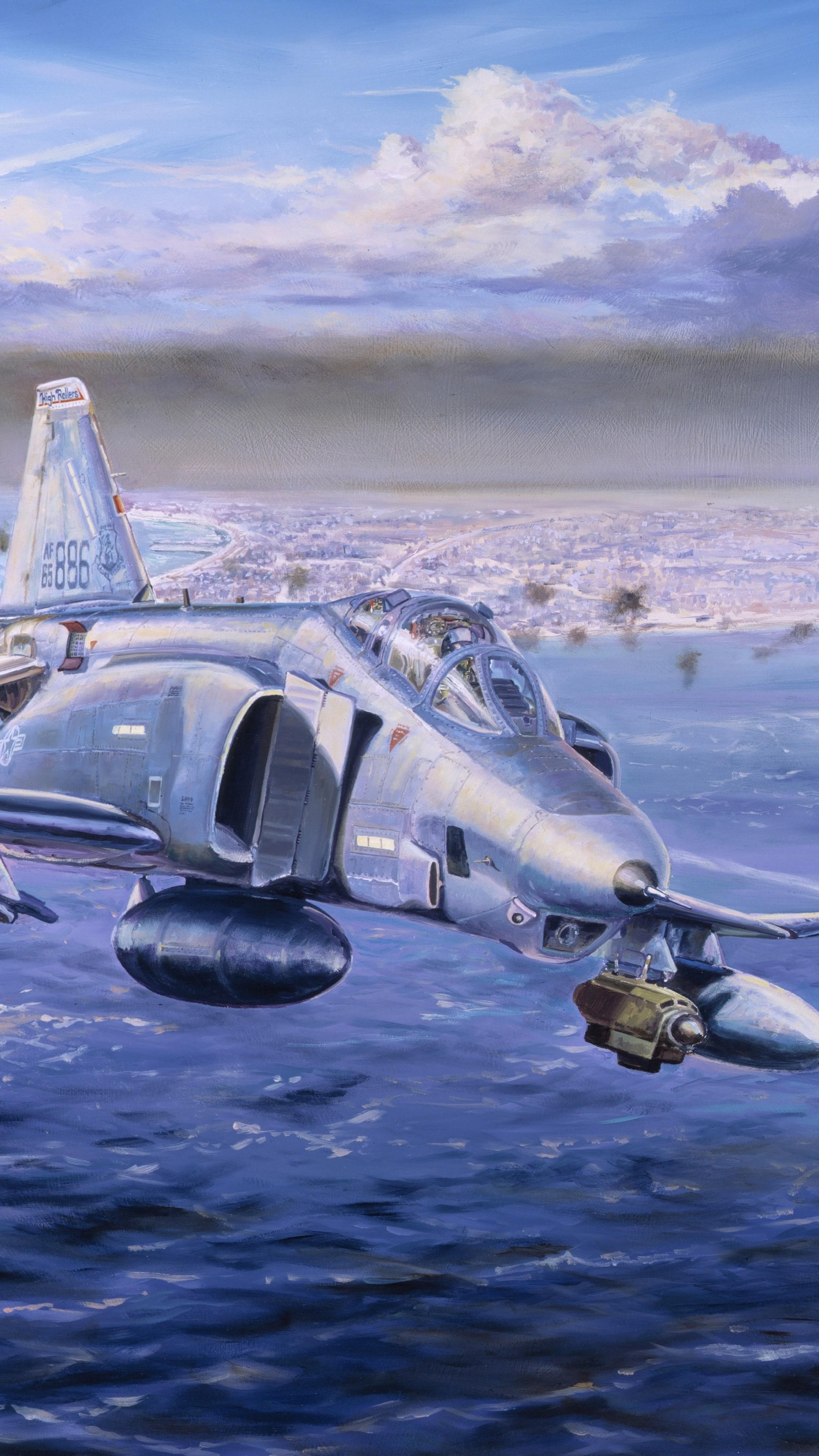Wallpaper Mcdonnell Douglas F 4 Phantom Ii F 4 Phantom 2 Jet