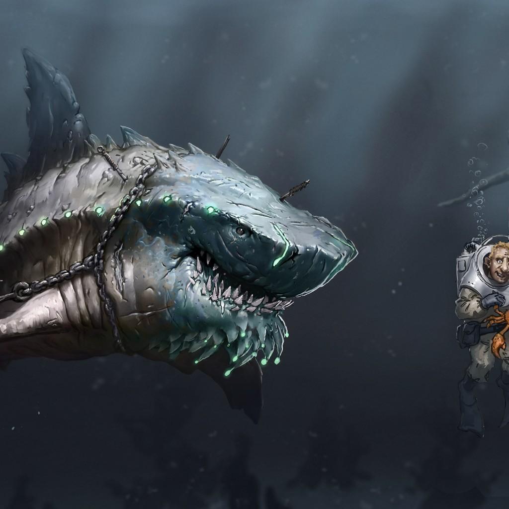 The gallery for --> Megalodon Wallpaper
