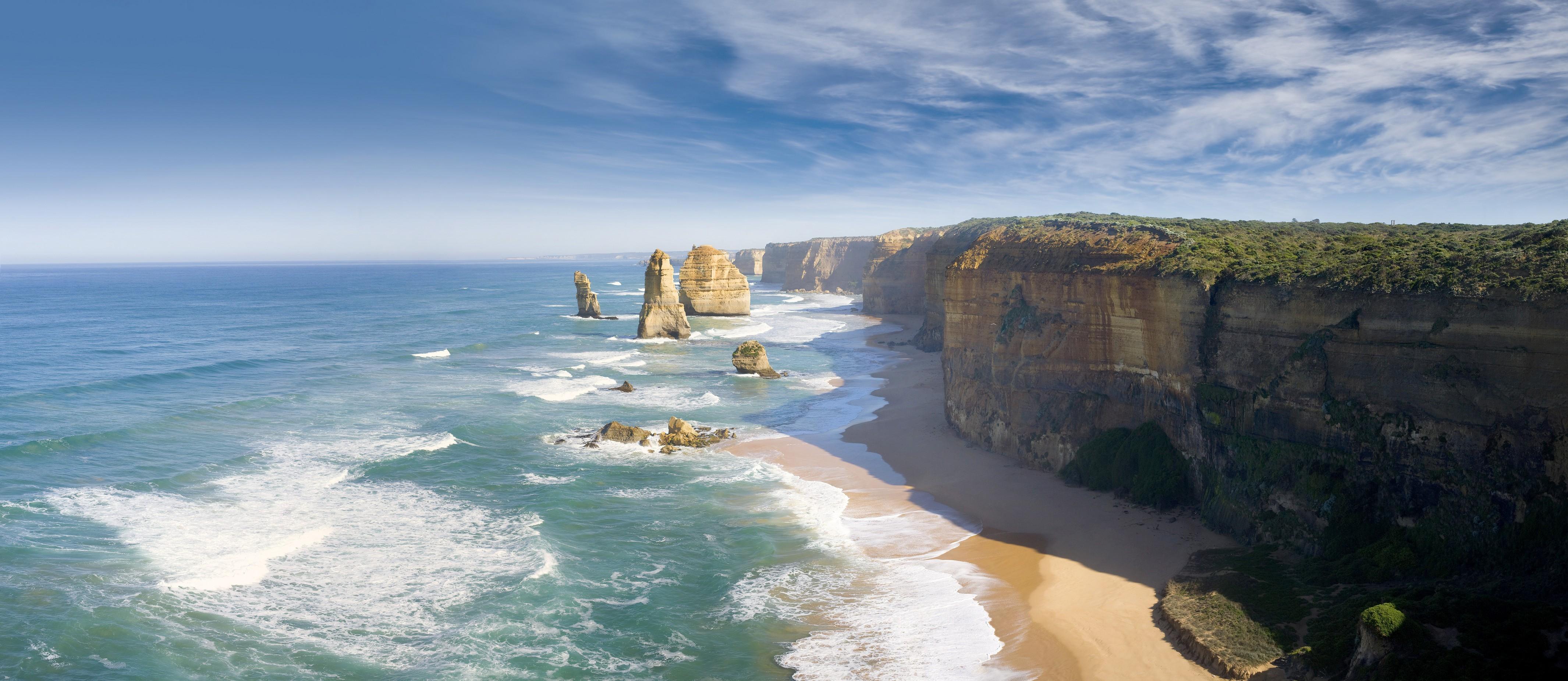 wallpaper melbourne, 4k, hd wallpaper, australia, best beaches in