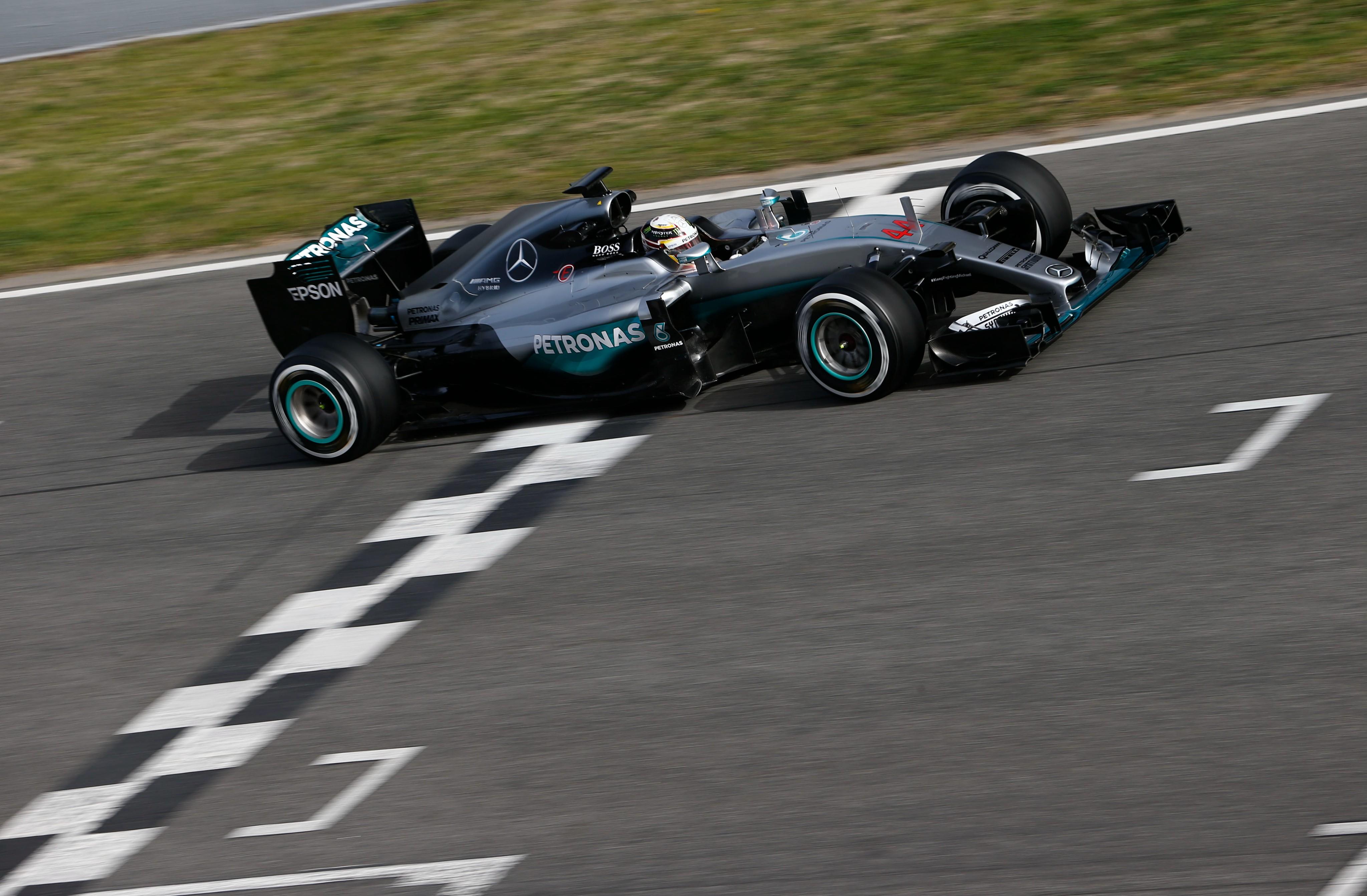 Wallpaper Mercedes AMG F1 W07, Hybrid, Formula 1, testing ...