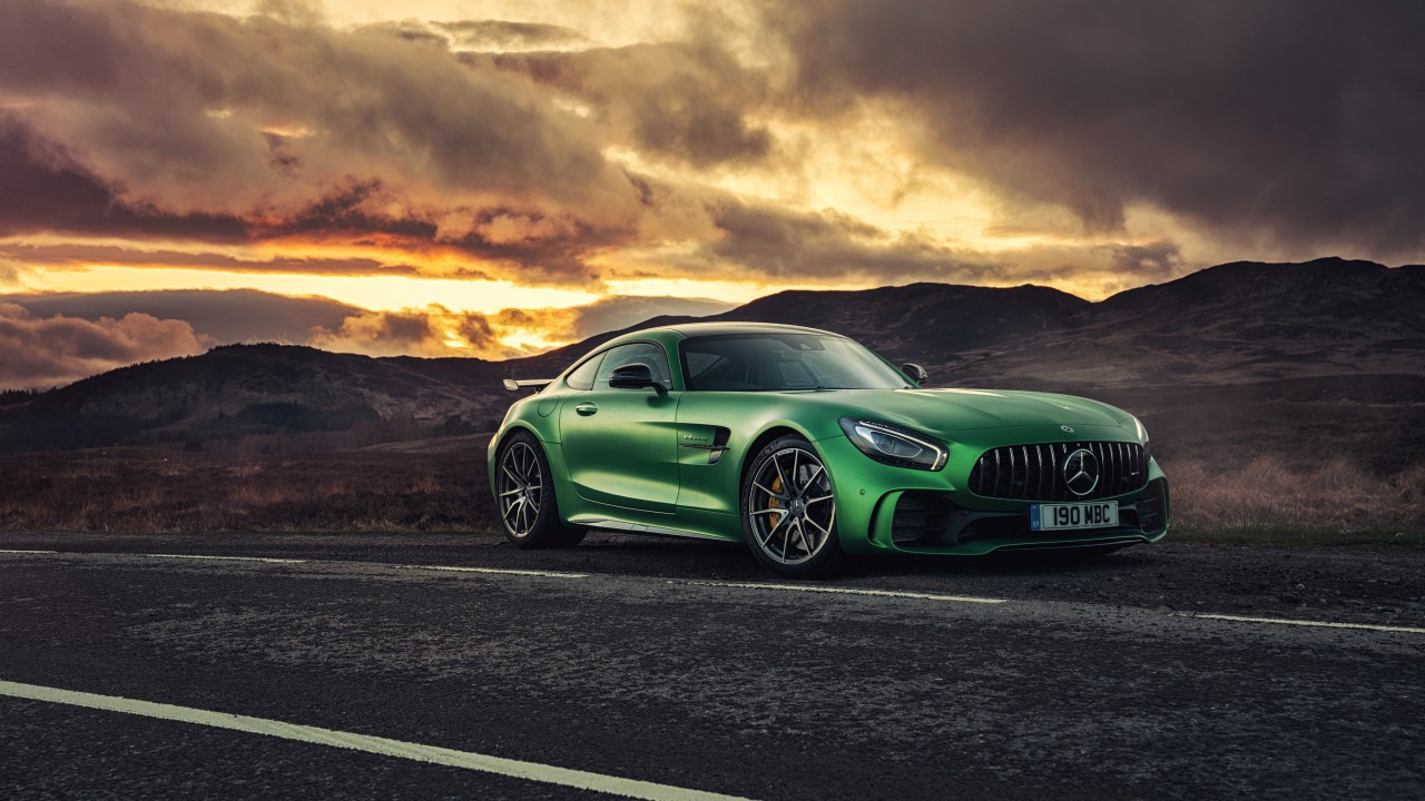 wallpaper mercedes amg gtr 2018 cars 4k cars bikes 17087. Black Bedroom Furniture Sets. Home Design Ideas