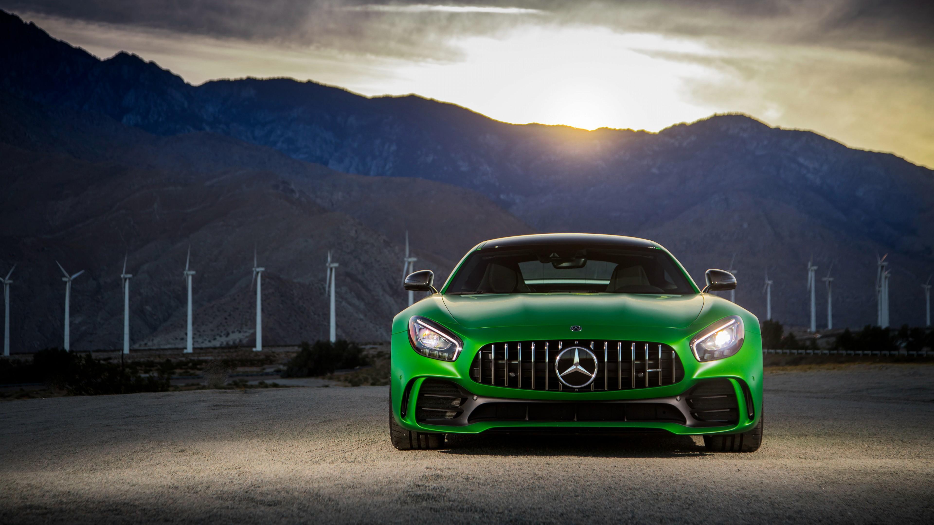 Mercedes Benz Gtr >> Wallpaper Mercedes Amg Gtr, 2018 Cars, 4k, Cars & Bikes #17088