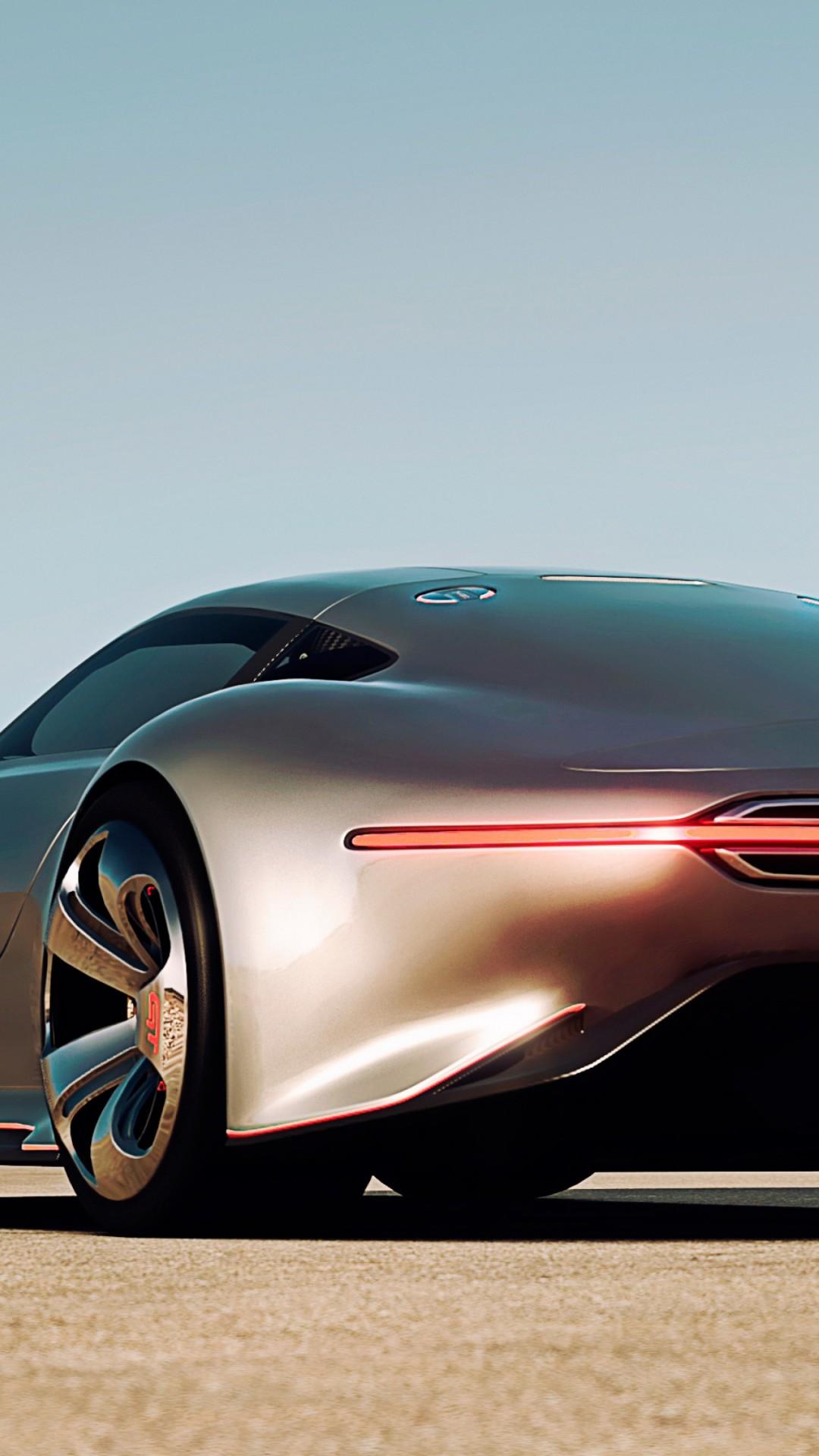 Lamborghini For Rent >> Wallpaper Mercedes-Benz AMG Vision, supercar, Gran Turismo, concept, Mercedes, 2015 car, silver ...