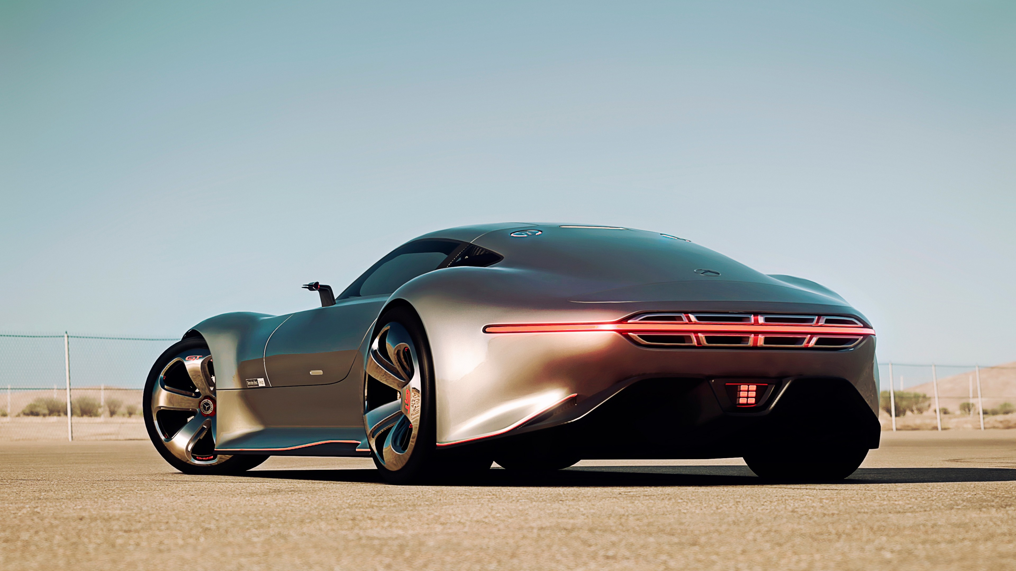 wallpaper mercedes benz amg vision supercar gran turismo