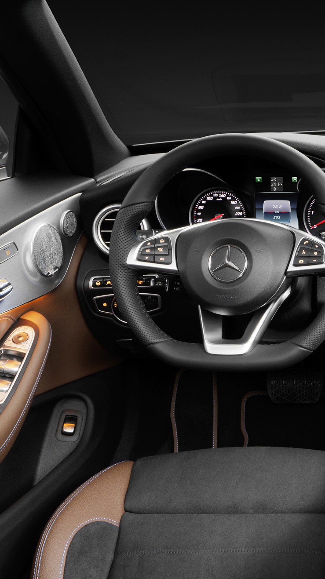 Wallpaper Mercedes Benz C 220d Coupe Geneva Auto Show