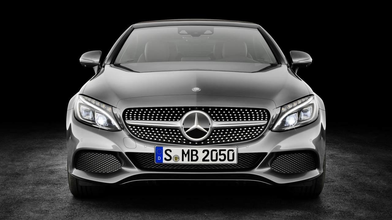Wallpaper Mercedes Benz C 220d Coupe Geneva Auto Show