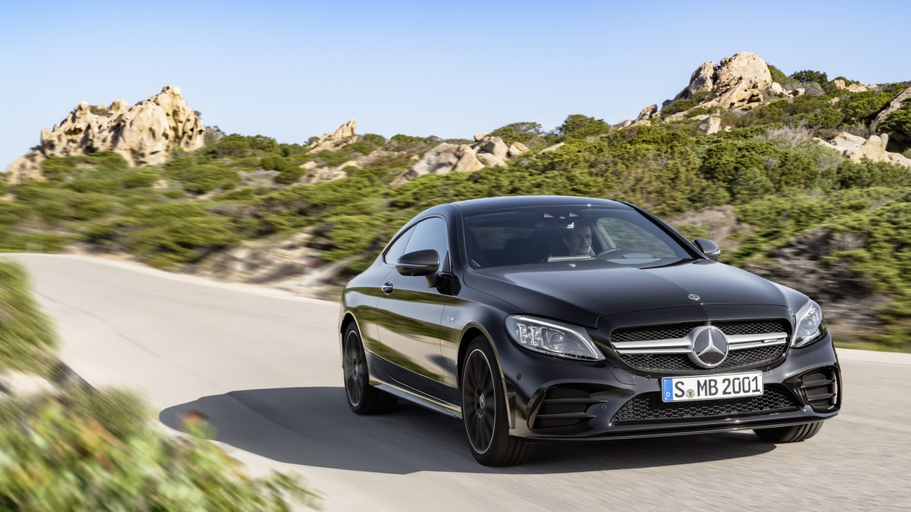Wallpaper Mercedes Benz C43 Amg Coupe 2019 Cars 4k Cars