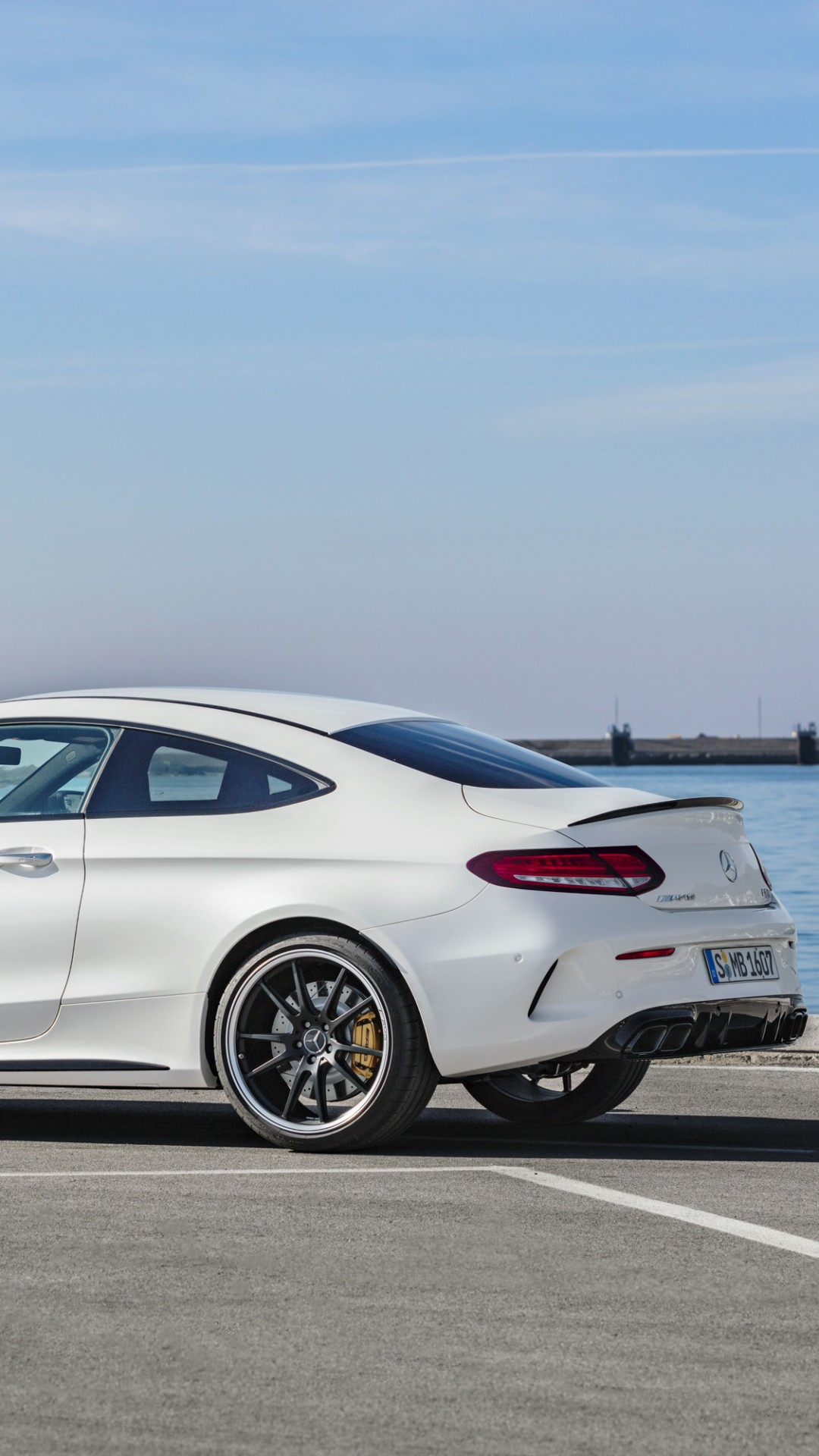 Wallpaper Mercedes Benz C63 S Amg Coupe 2019 Cars 4k