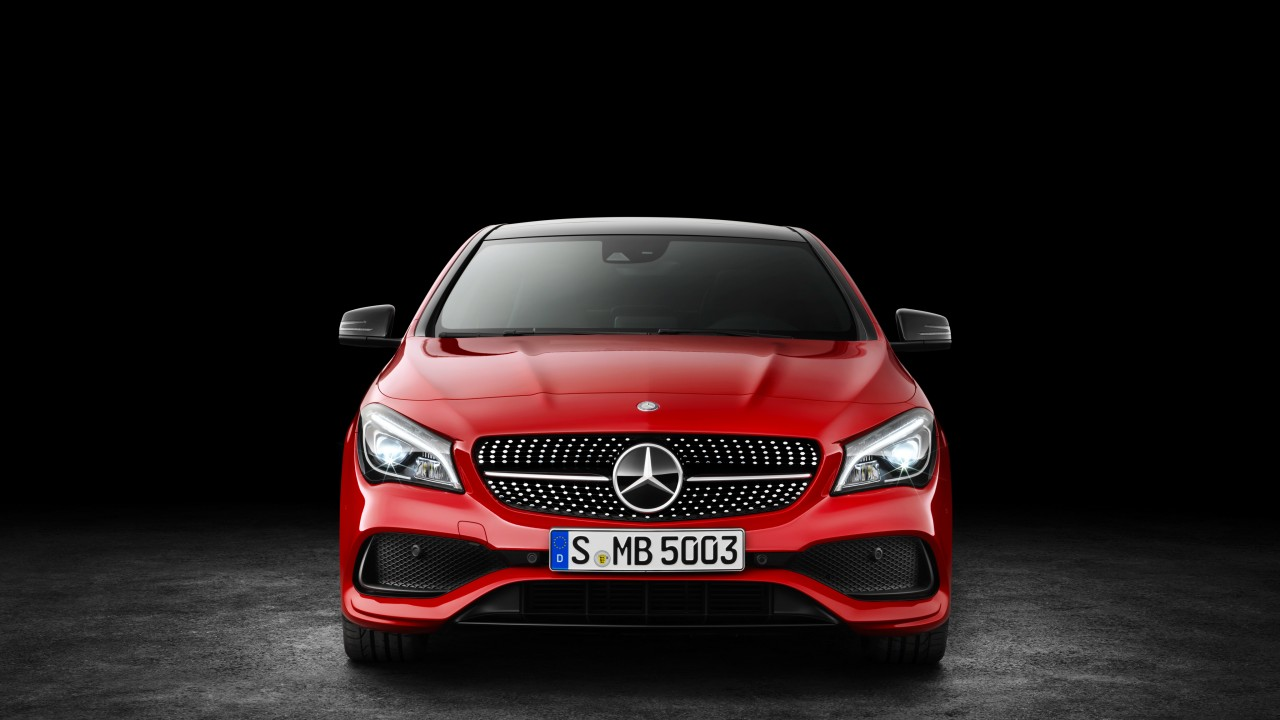 Racing In Car >> Wallpaper Mercedes-Benz CLA 200 d, 4MATIC AMG Line, NYIAS 2016, red, Cars & Bikes #9675