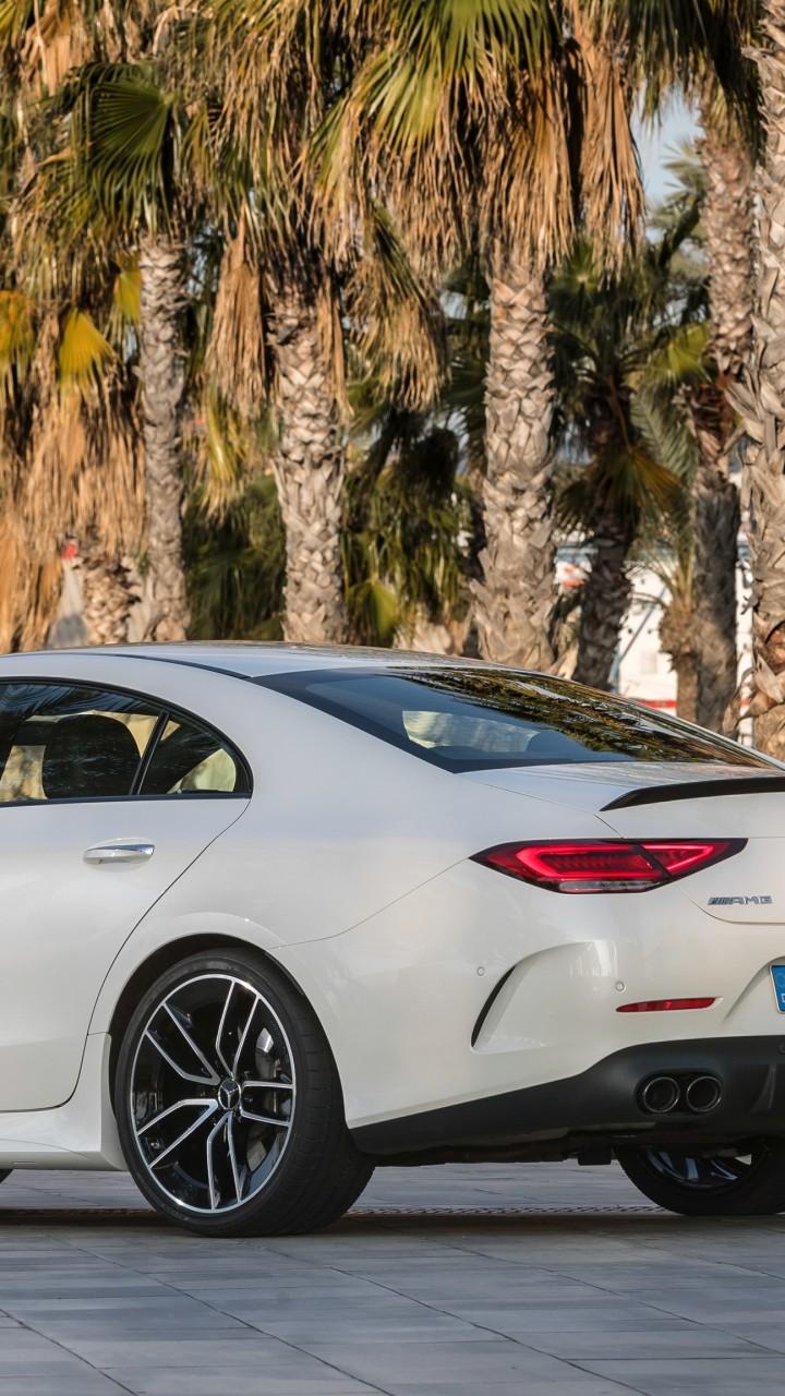 Wallpaper Mercedes Benz Cls53 Amg 2019 Cars 4k Cars